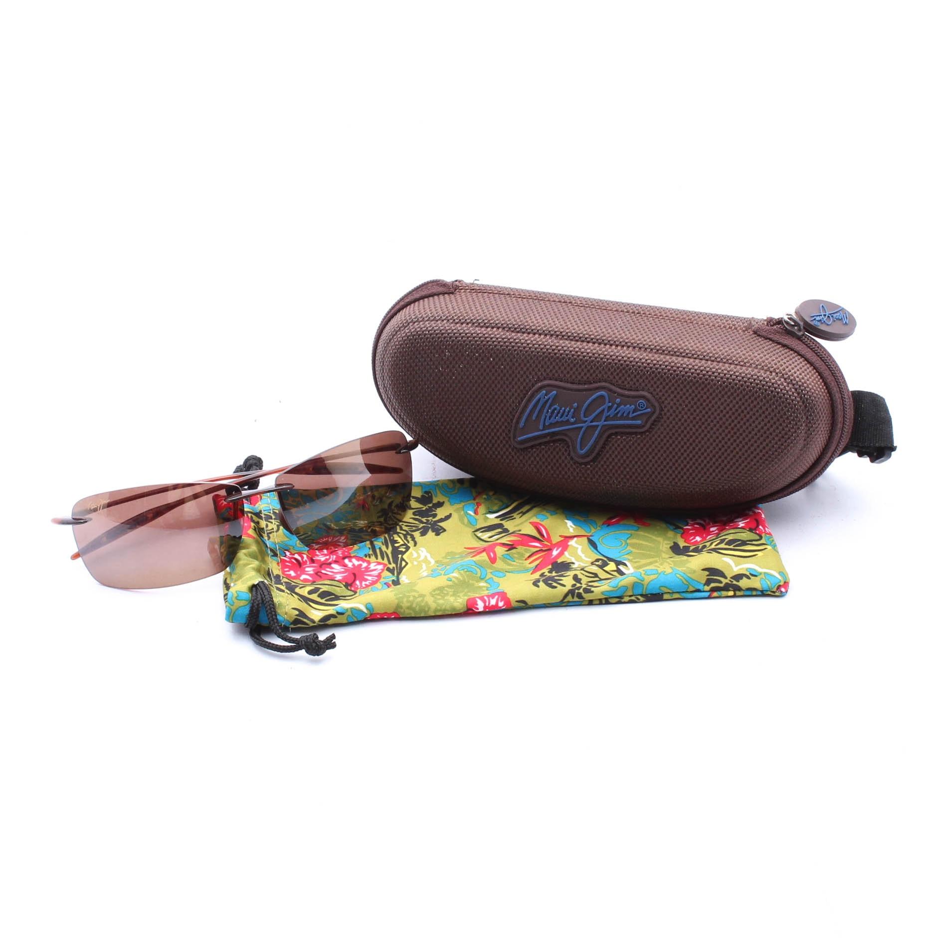 Maui Jim Lighthouse-423 Sunglasses with Case