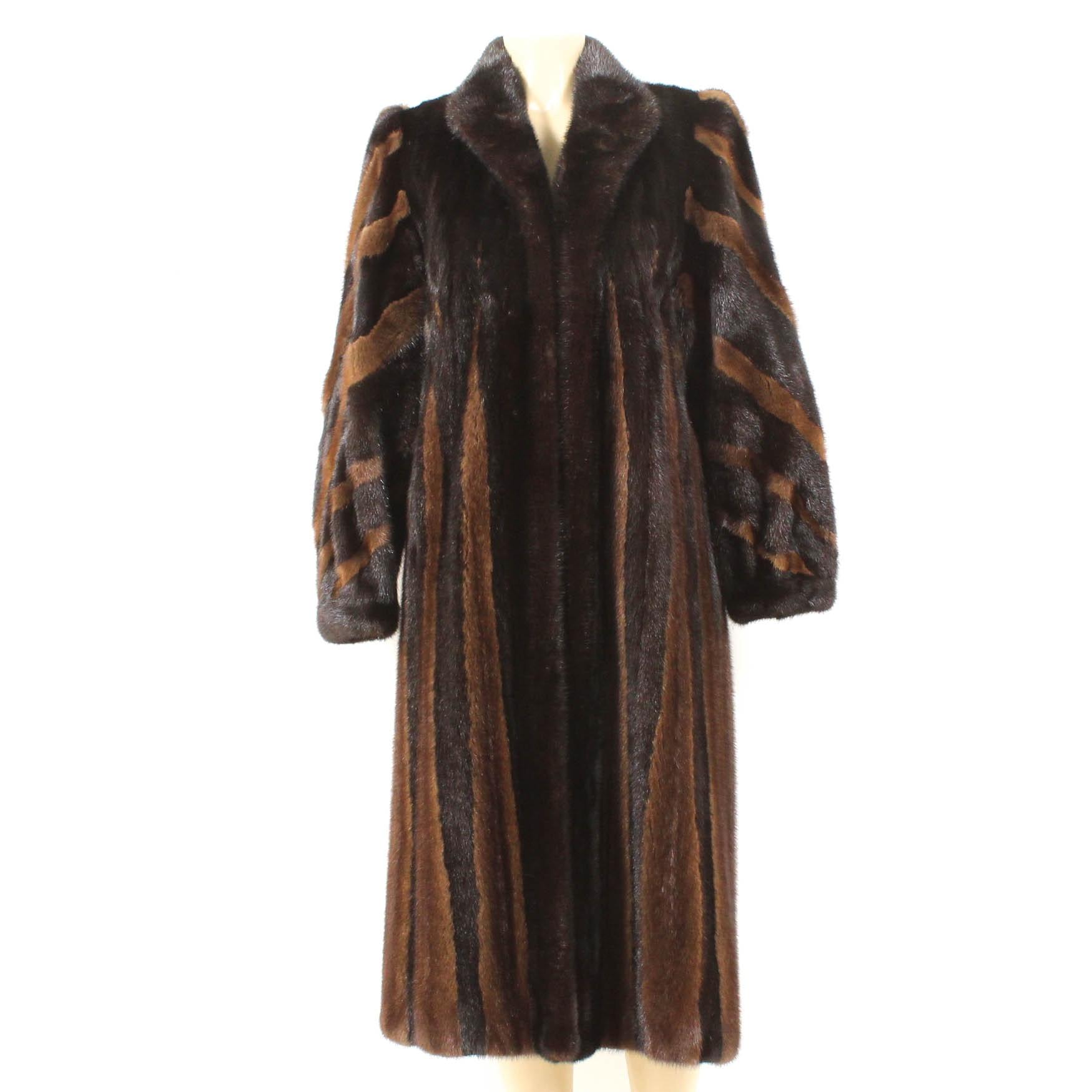 Hopper Furs Custom Made Mink Fur Coat