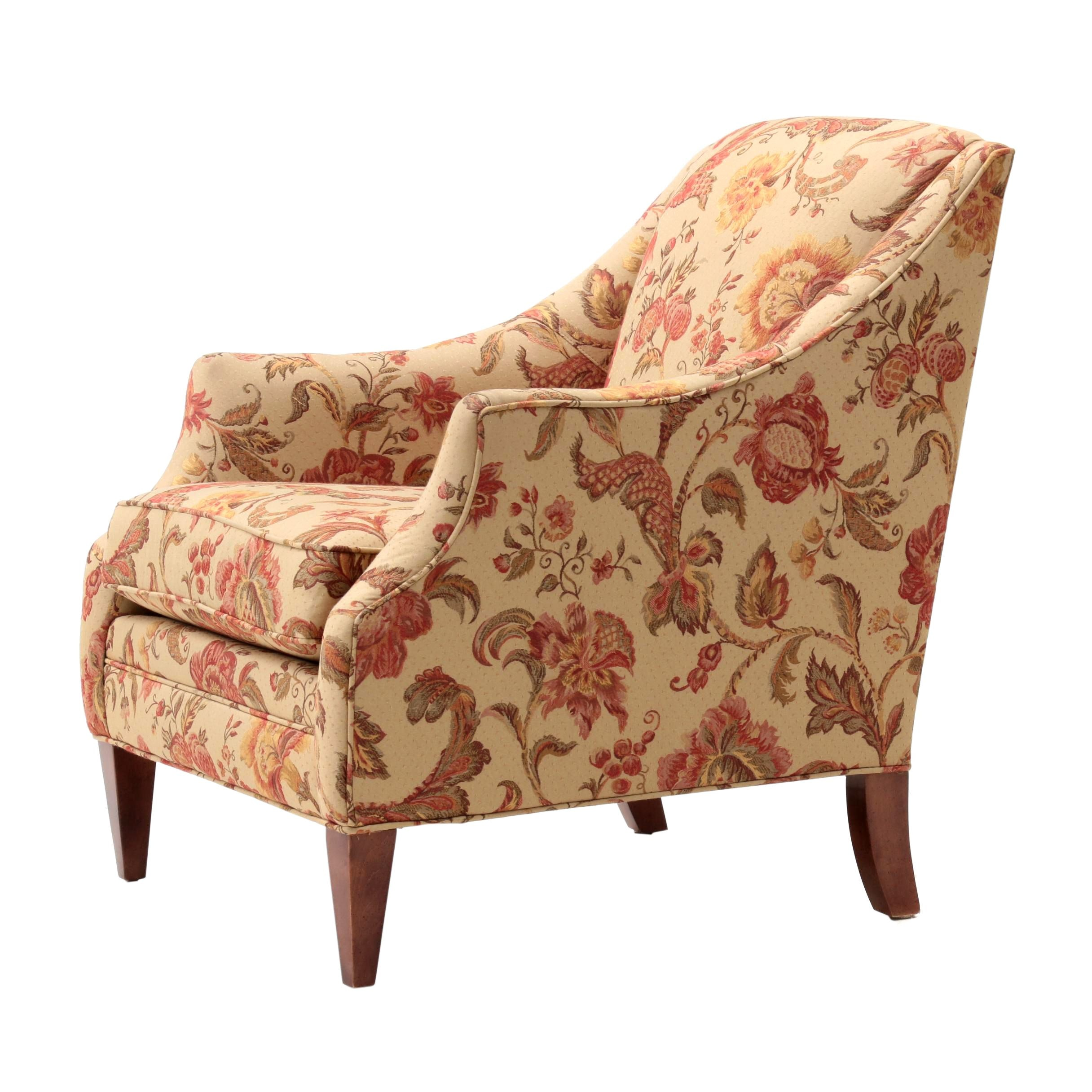 Contemporary Upholstered Arm Chair by Same Moore Furniture