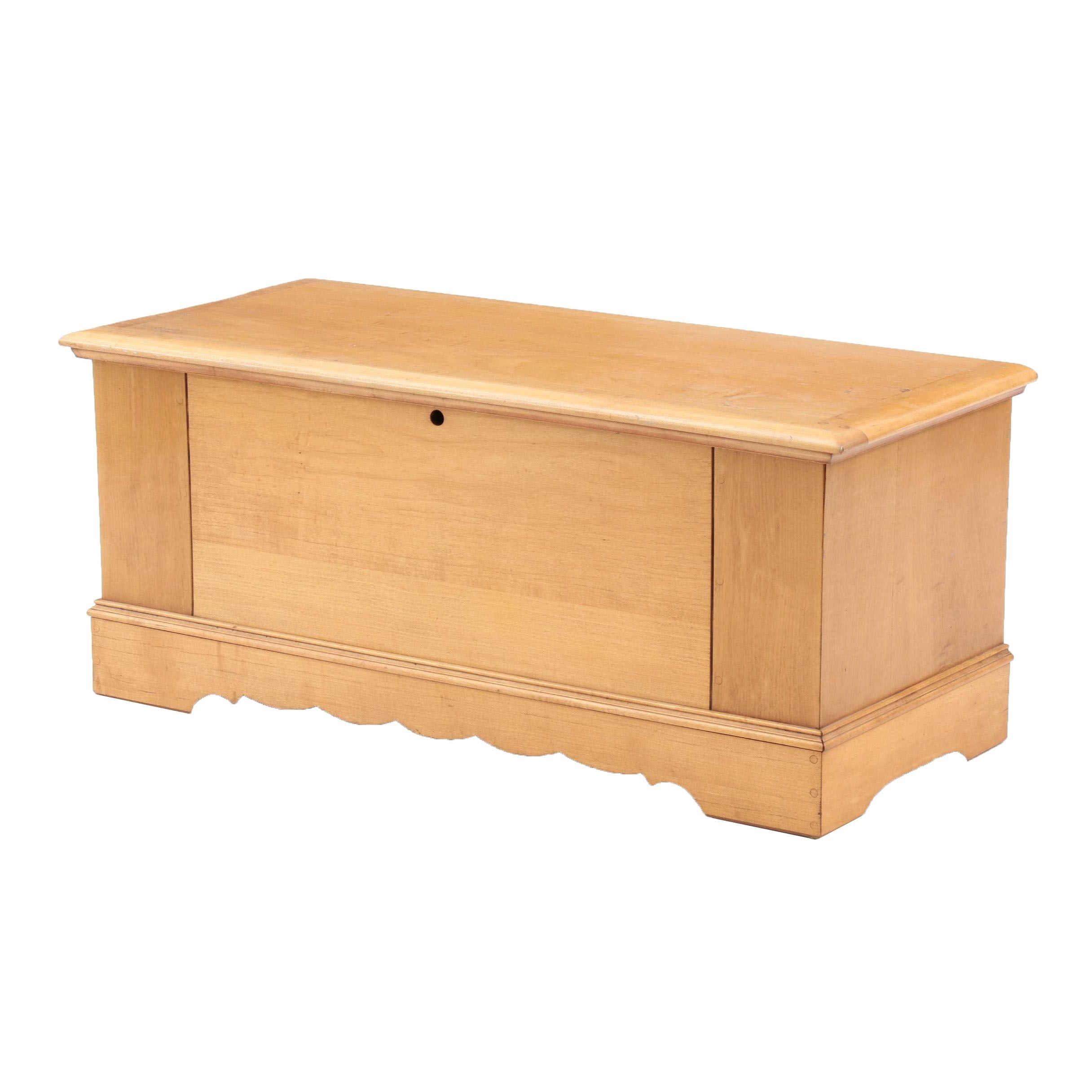 Maple Cedar Chest by Lane Furniture, Late 20th Century