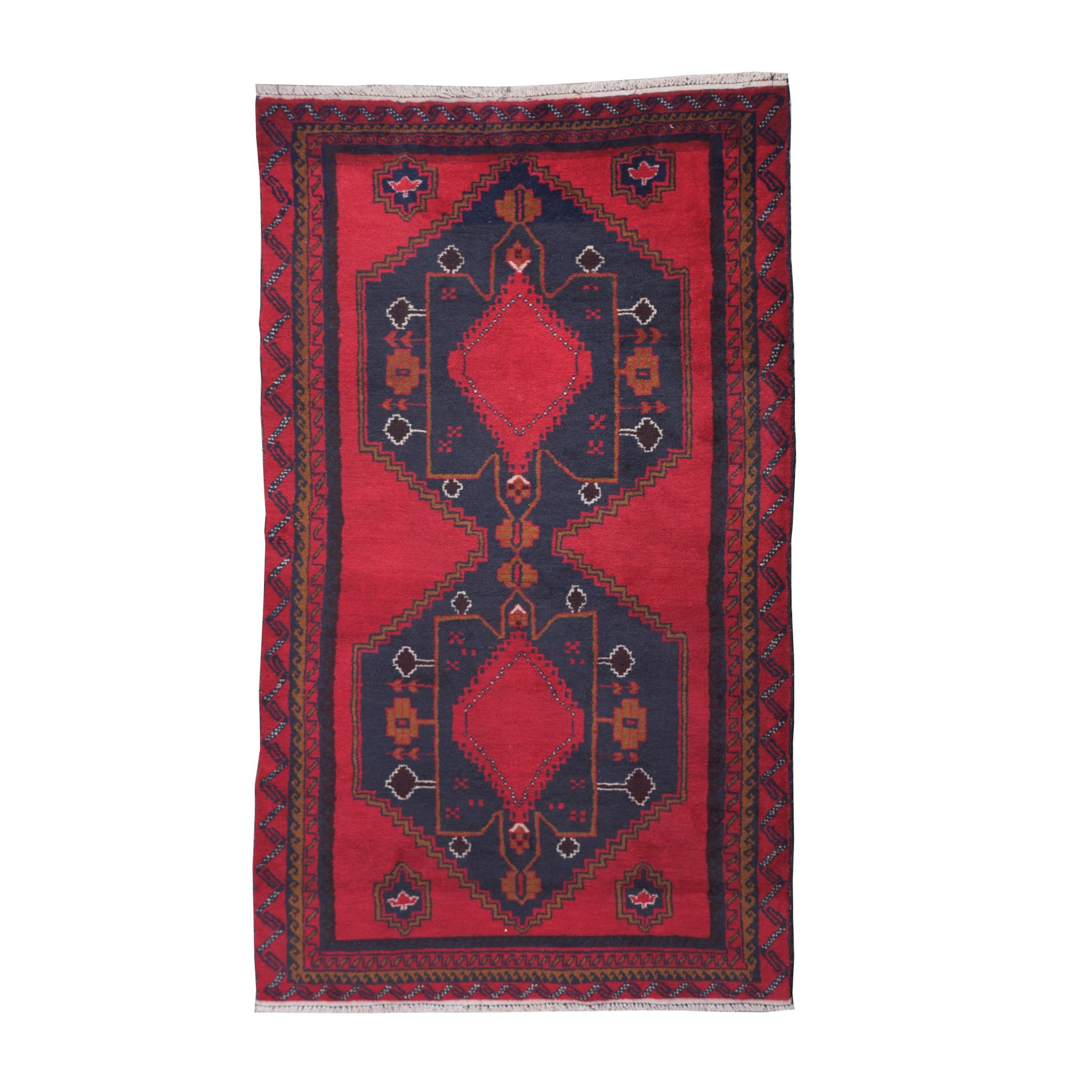 Hand-Knotted Northwest Persian Tribal Long Rug
