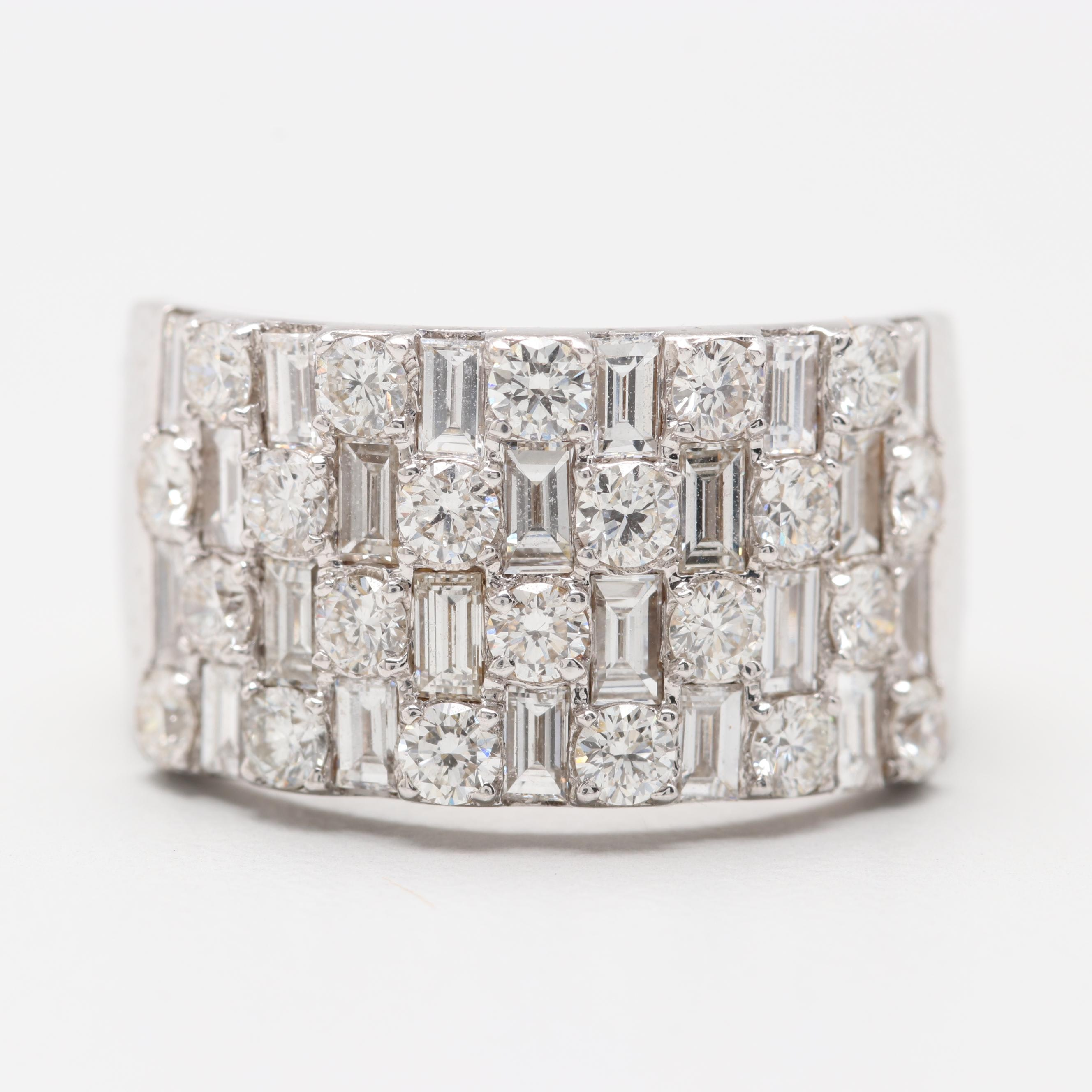 Bony Levy 18K White Gold 2.05 CTW Diamond Ring