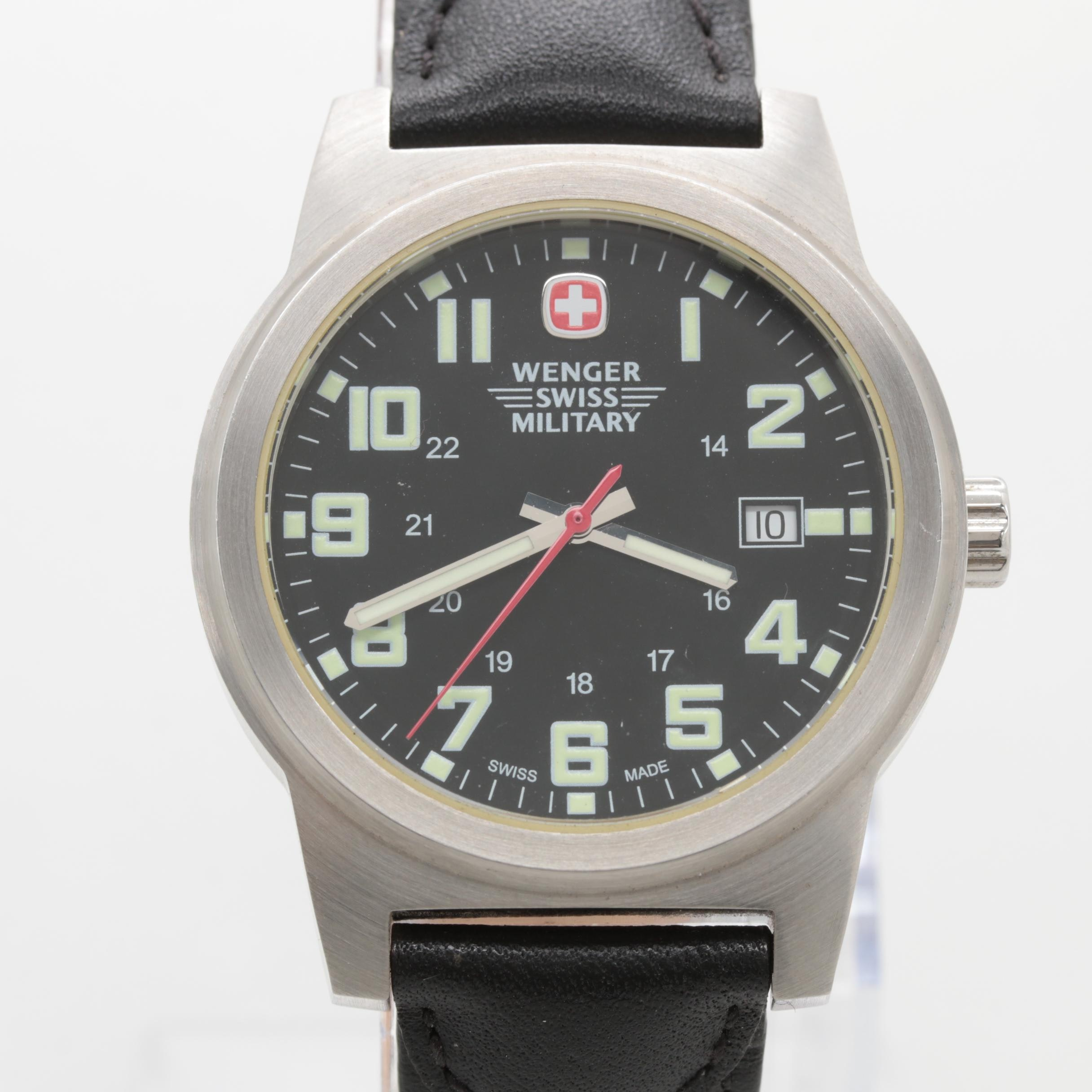 Wenger Stainless Steel Swiss Military Model 7290X Wristwatch