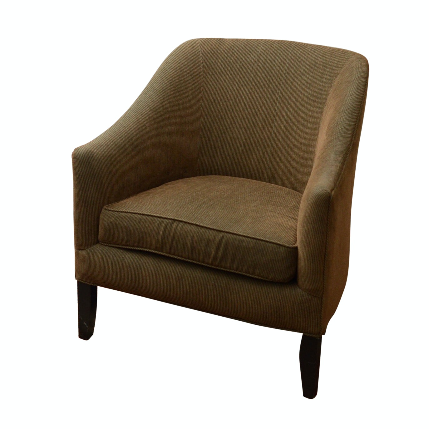 Barrel Arm Chair by Arhaus, 20th Century
