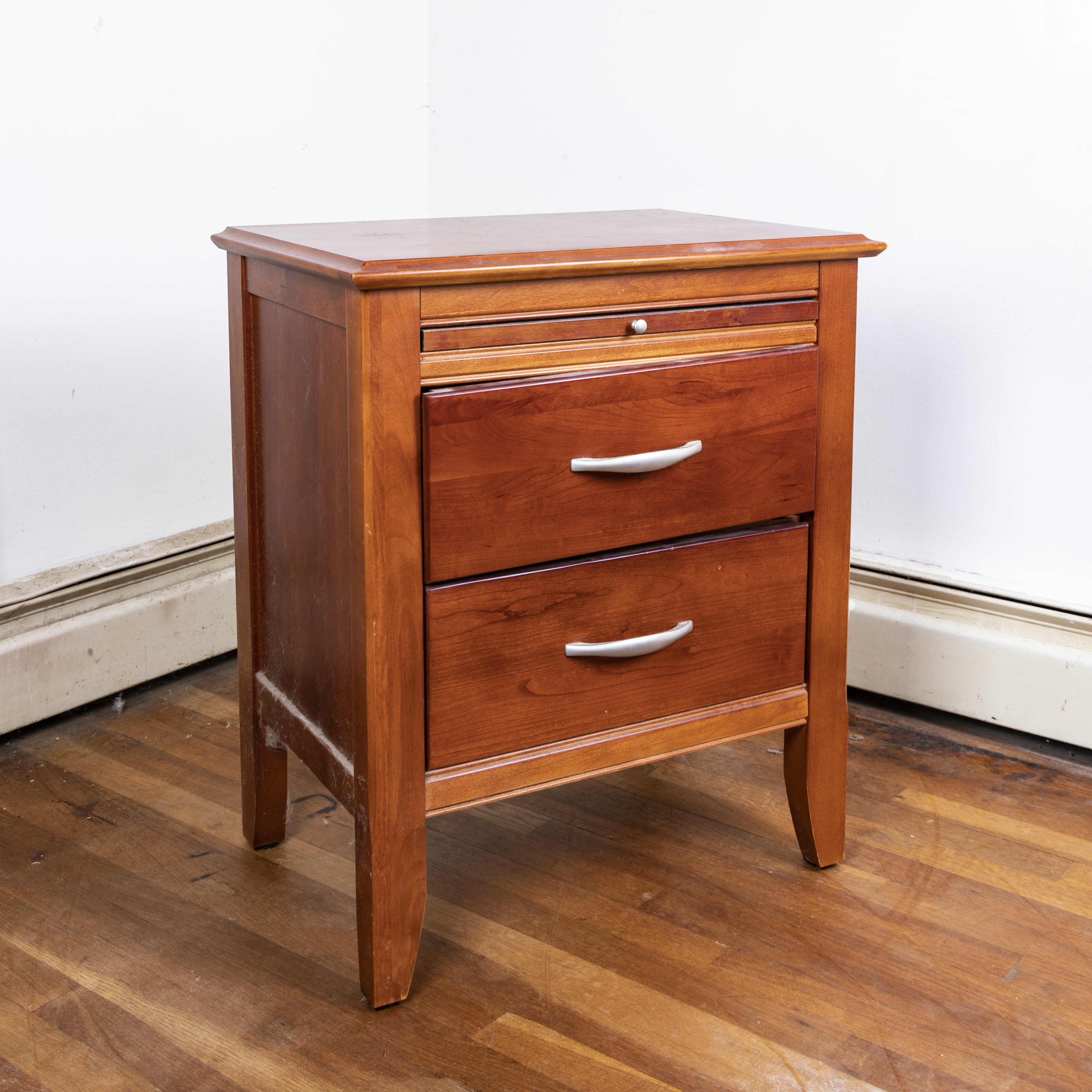 Contemporary Side Table by Bassett Furniture