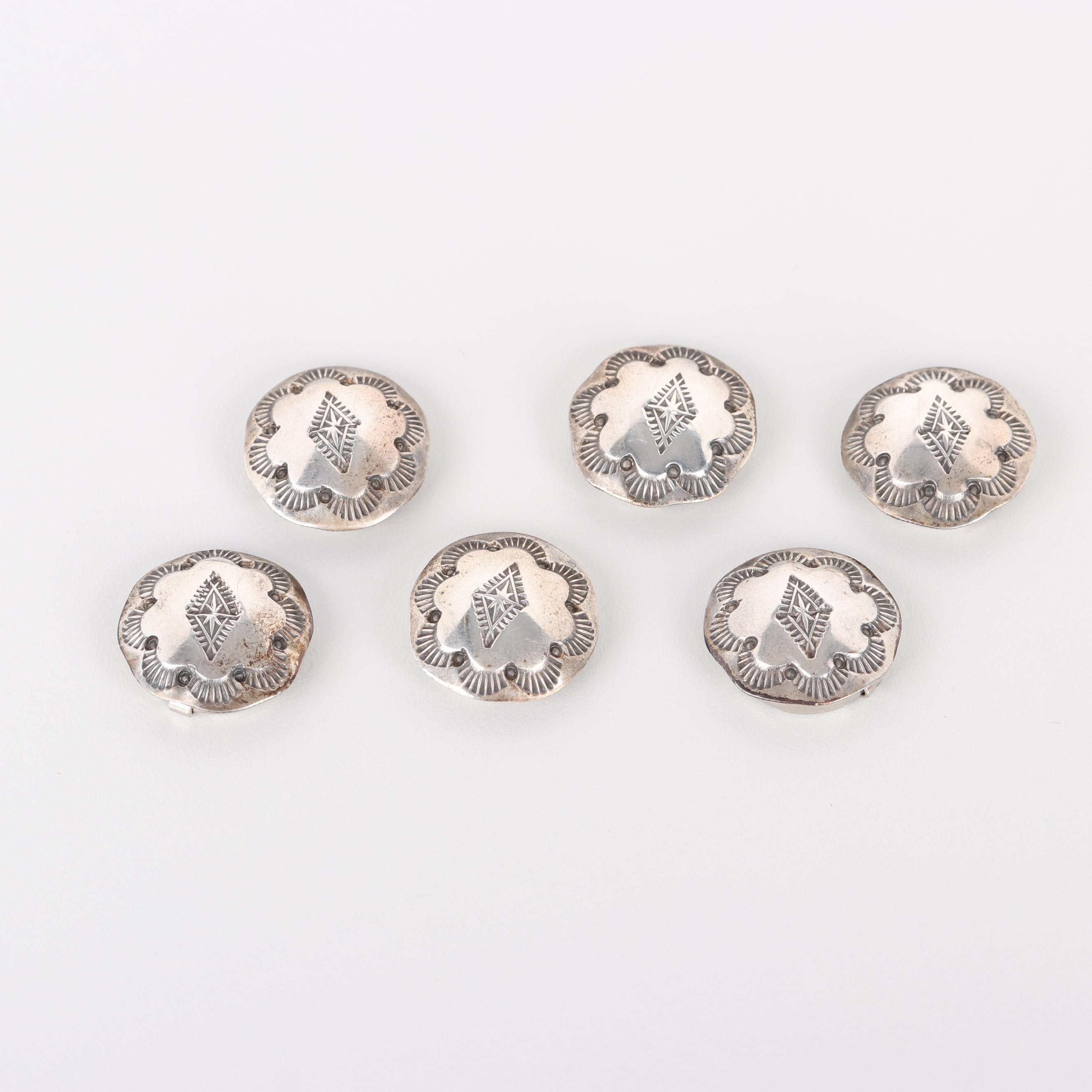 Vintage 800 Silver Button Covers