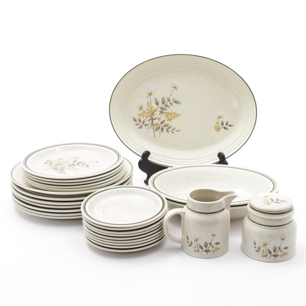 "Royal Doulton ""Will O' The Wisp"" Stoneware Dinnerware c. 1978-92"