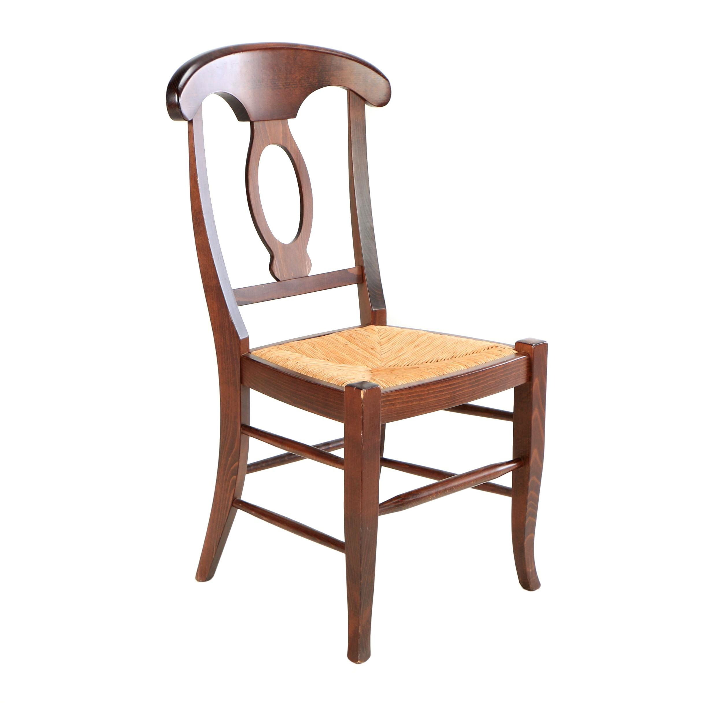"Contemporary ""Napoleon"" Side Chair by Pottery Barn"