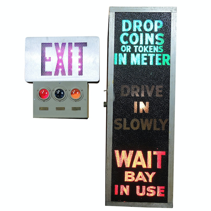 Automatic Car Wash Sign and Safety Signage