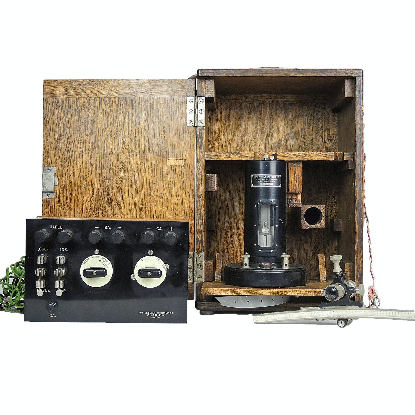 Leeds & Northrup Co. Galvanometer Test Set, Early 20th Century
