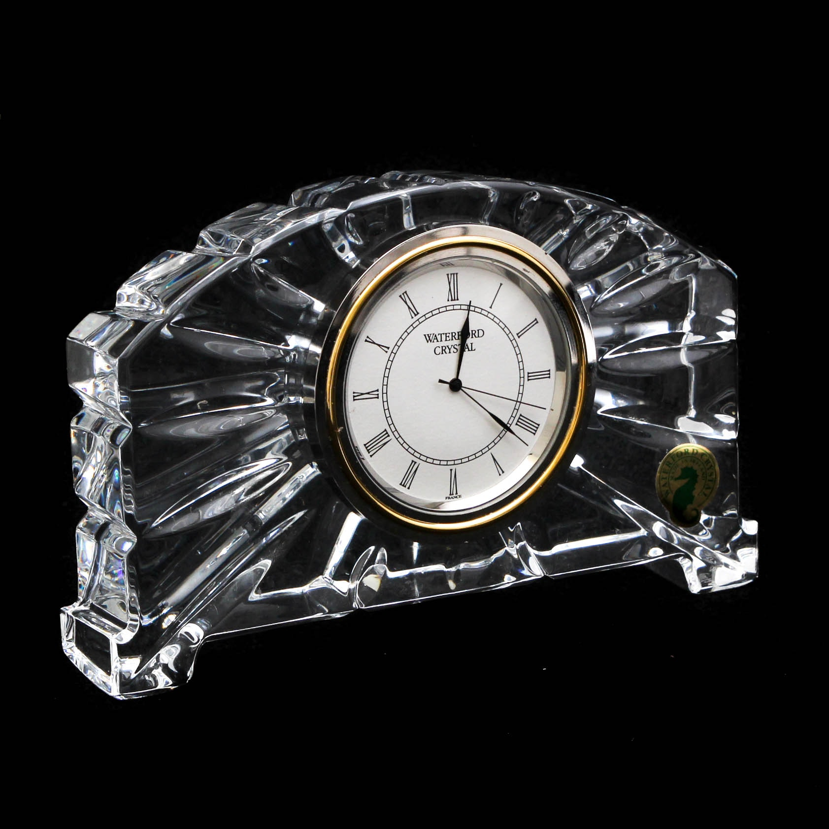 Waterford Crystal Mantel Clock
