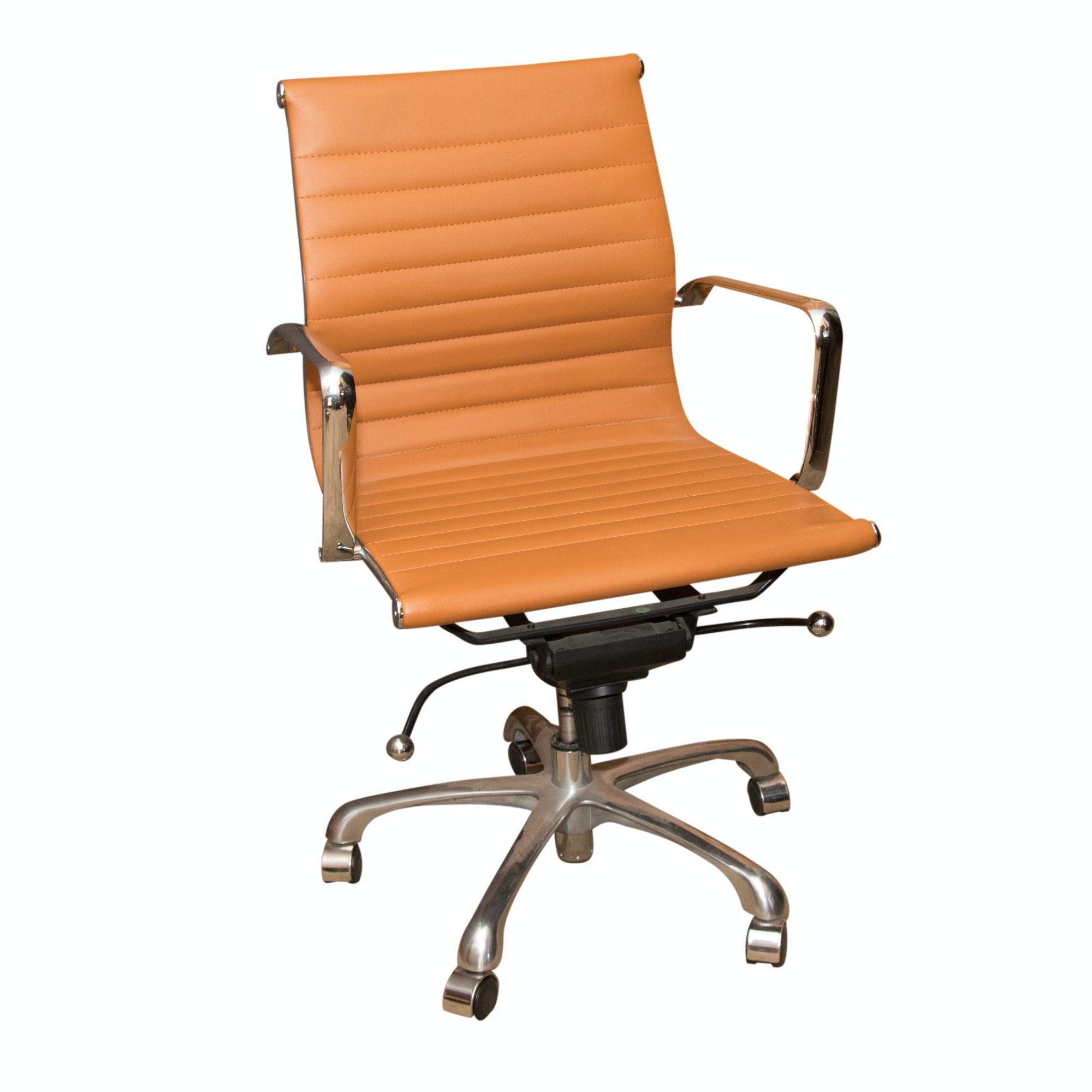 Vintage Burnt Orange Office Chair