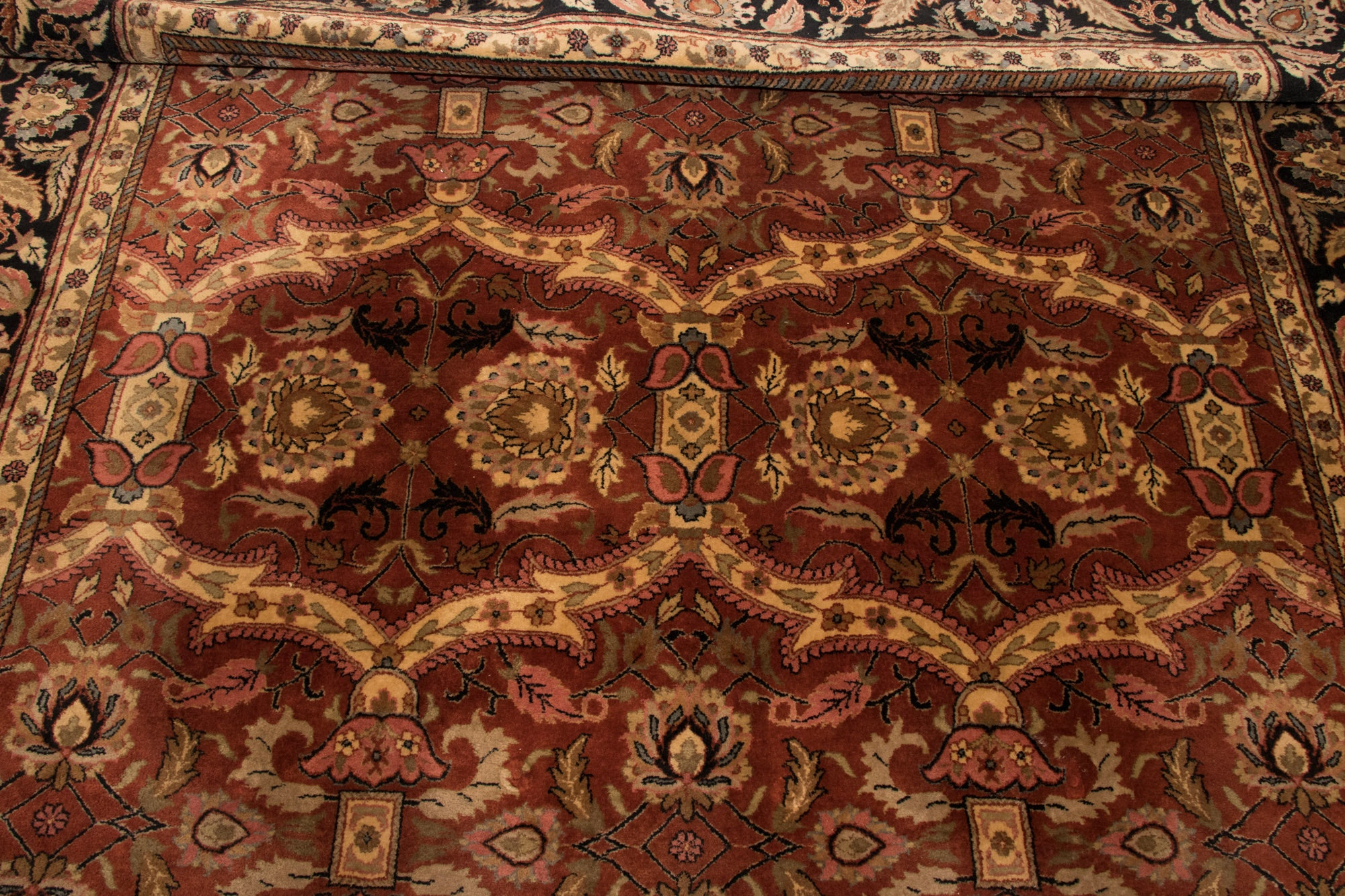 Power Loomed Sino-Persian Wool Area Rug