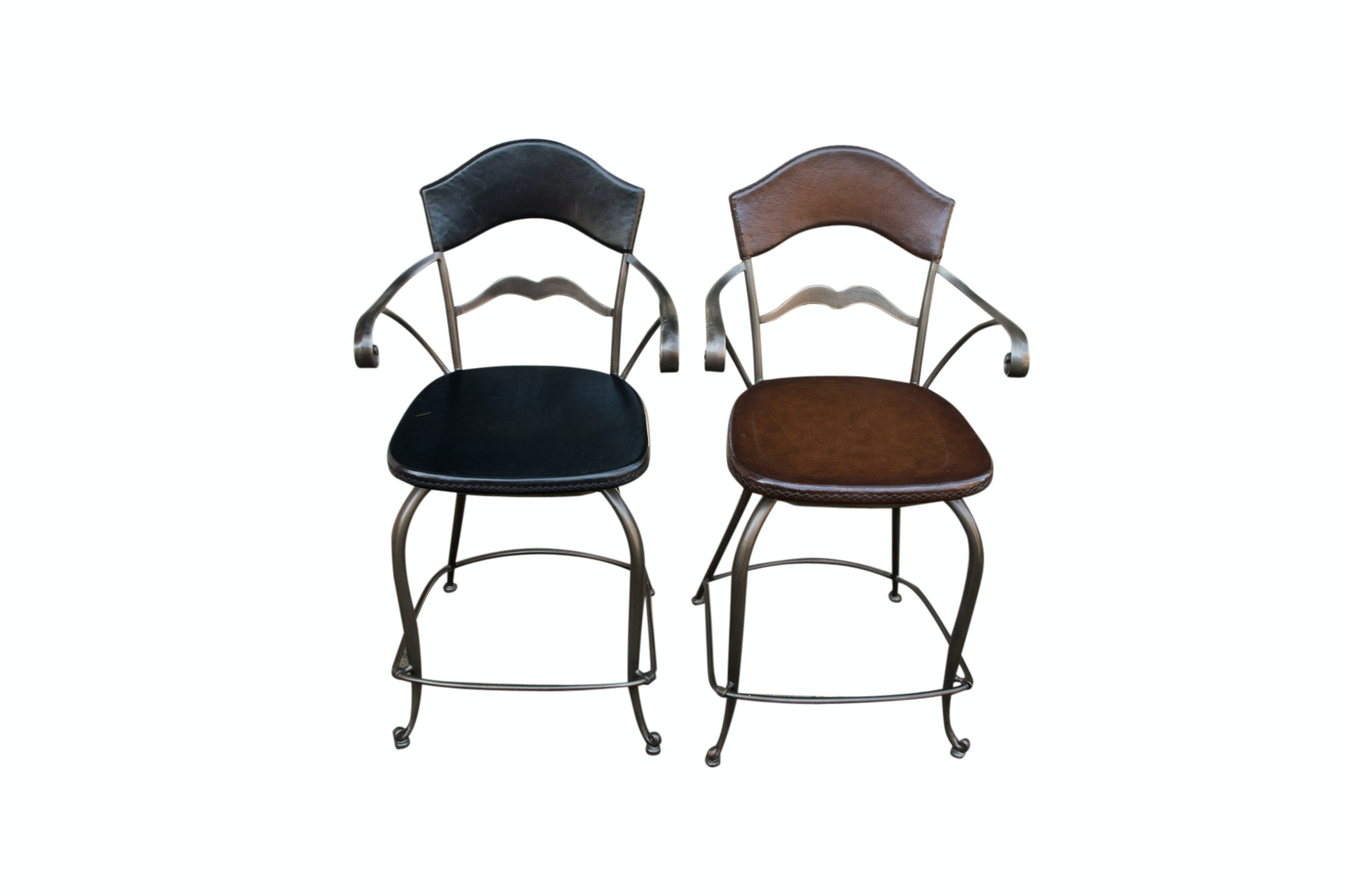Frontgate Leather Armchairs