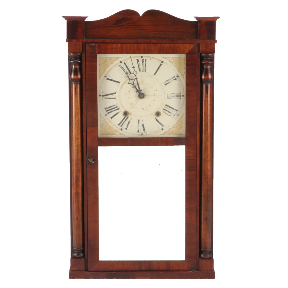 Antique Boardman and Wells Shelf Clock