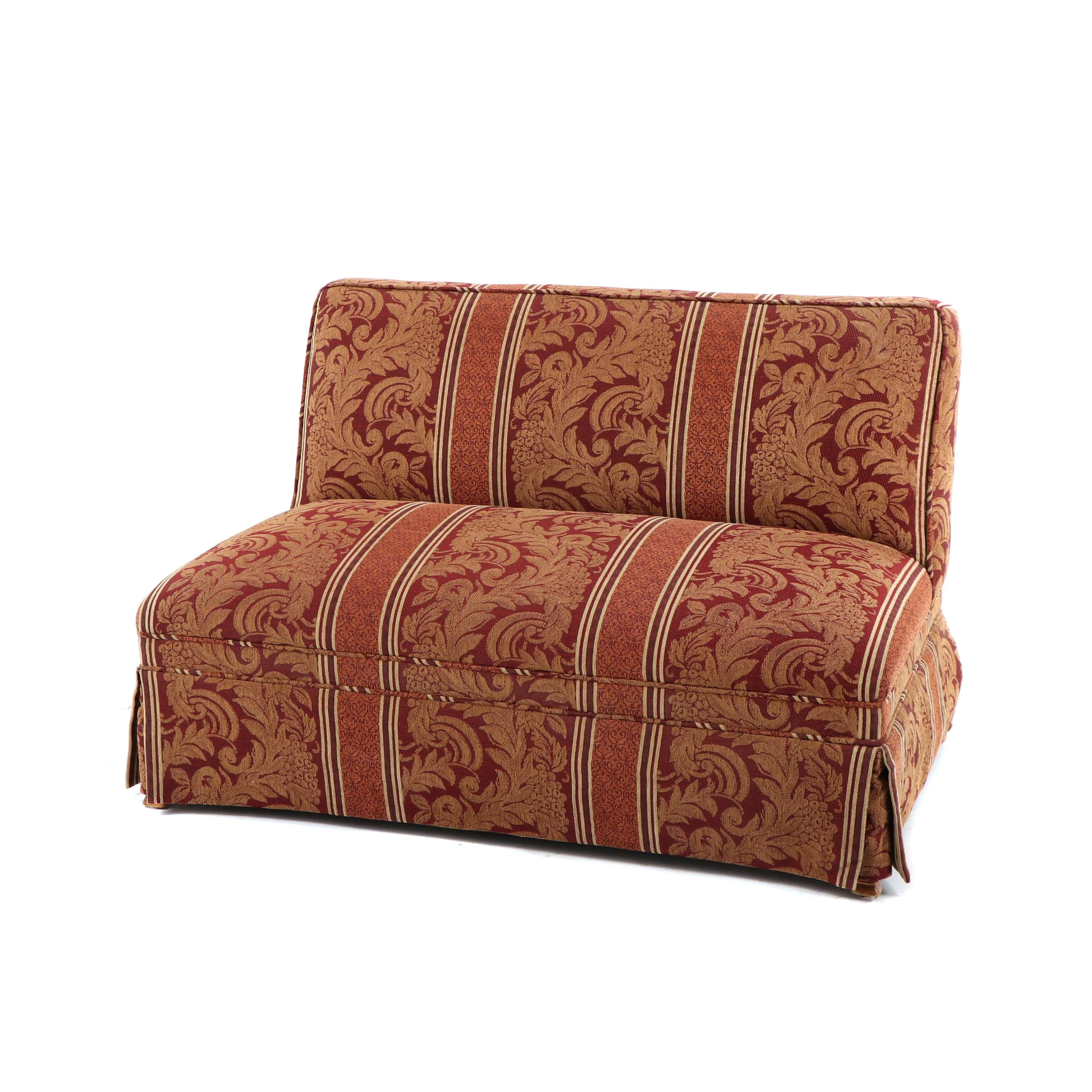 Contemporary Upholstered Loveseat