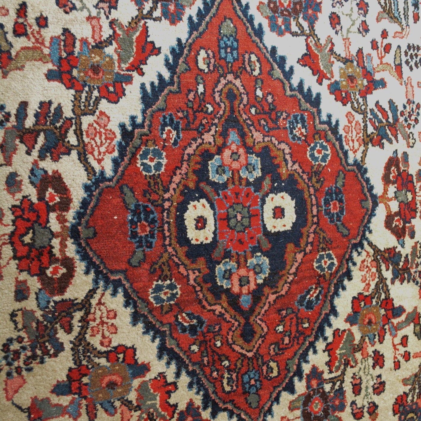 Hand-Knotted Persian Wool Room Sized Rug
