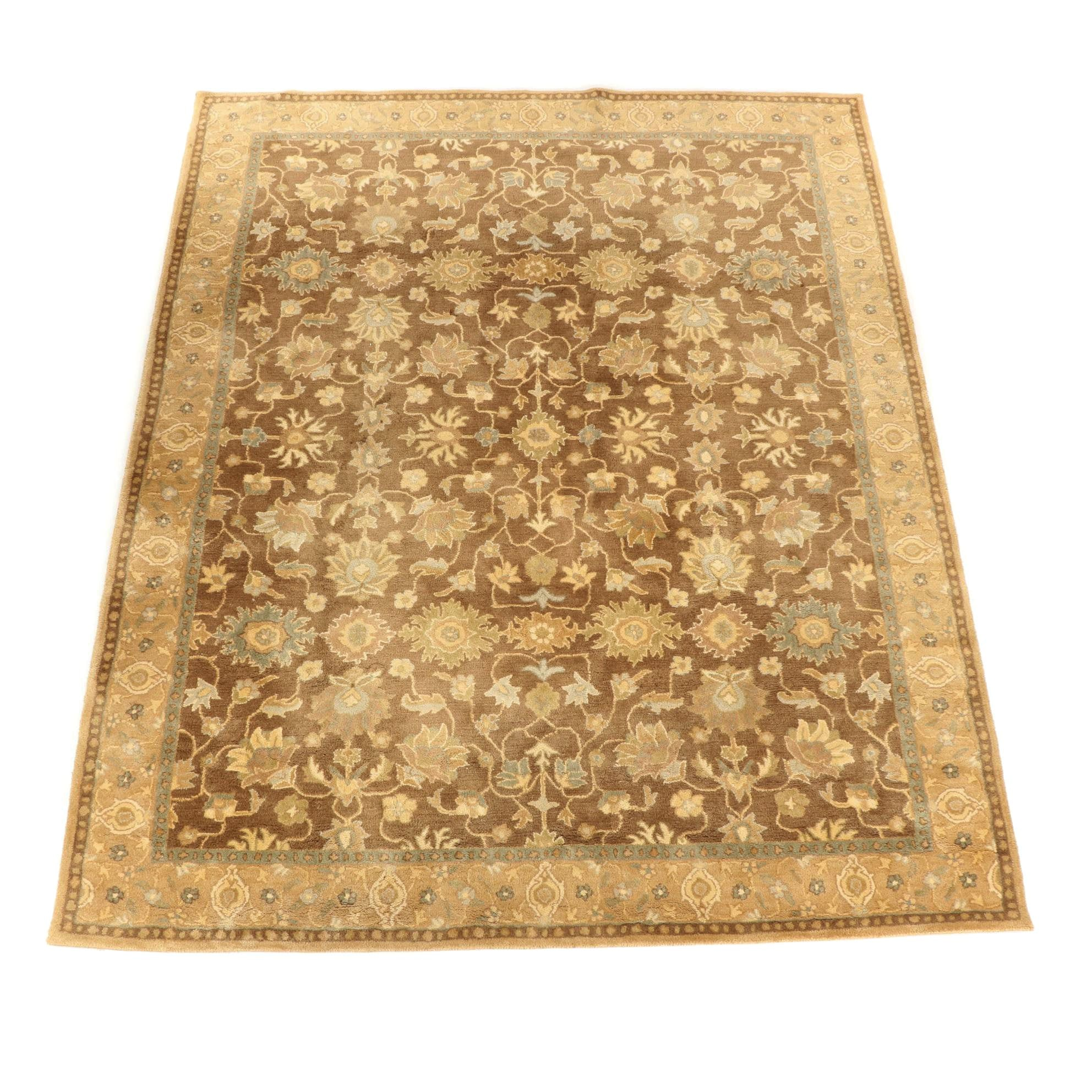 "Hand-Tufted Pottery Barn ""Graham Persian"" Wool Area Rug"