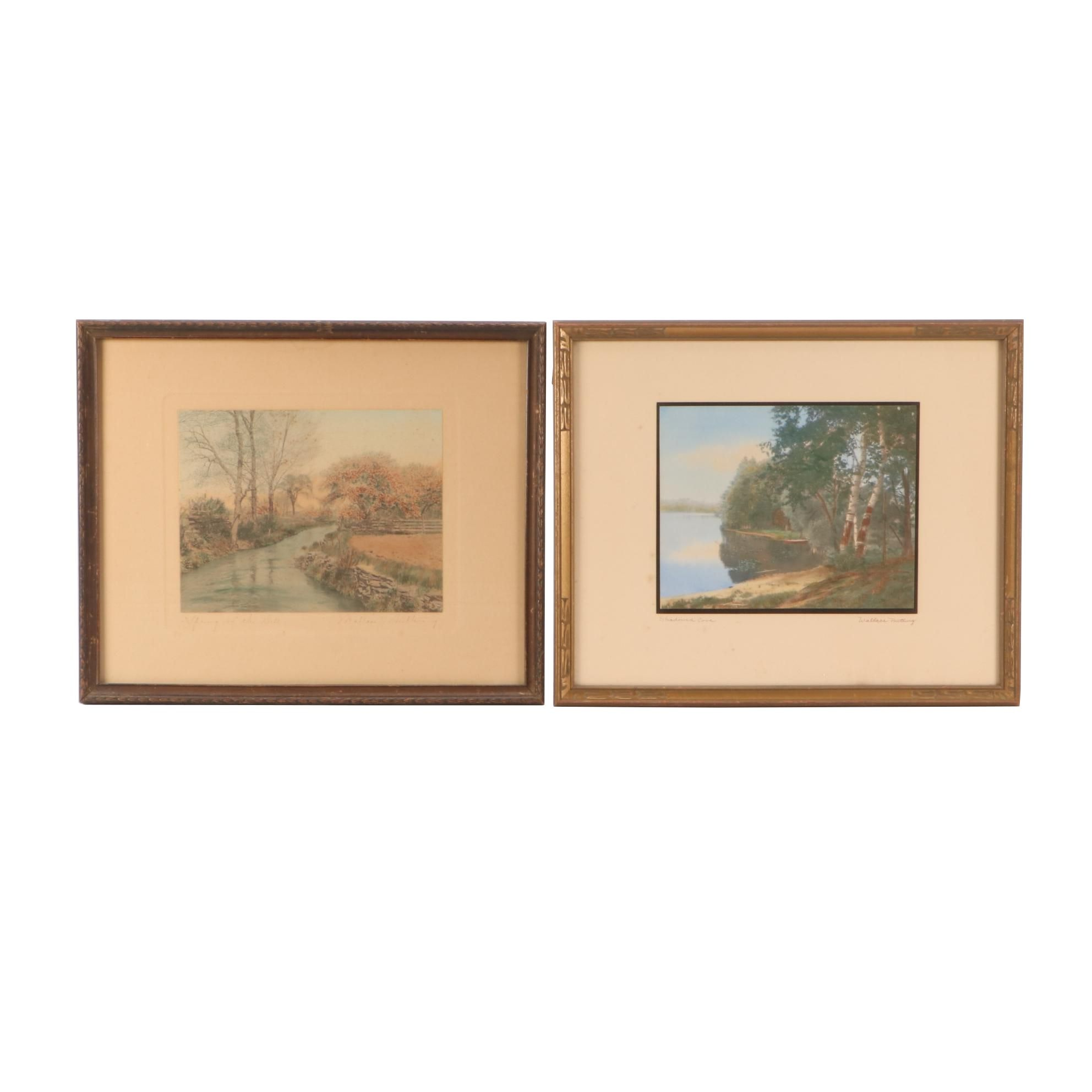 Wallace Nutting Hand-Colored Photogravures