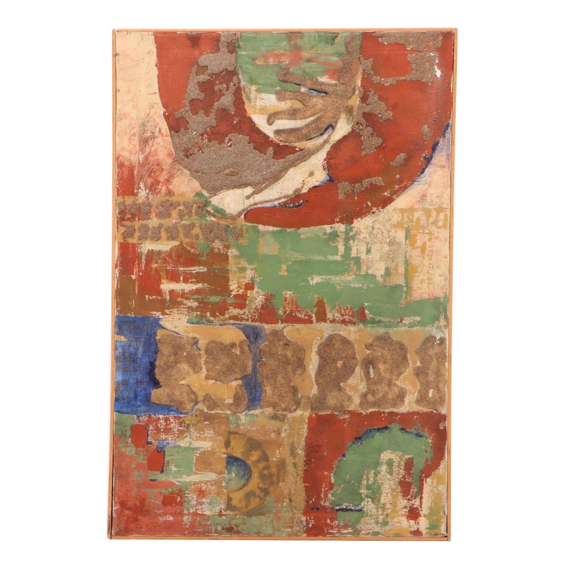 Deanna Farrell Mixed Media Abstract Painting