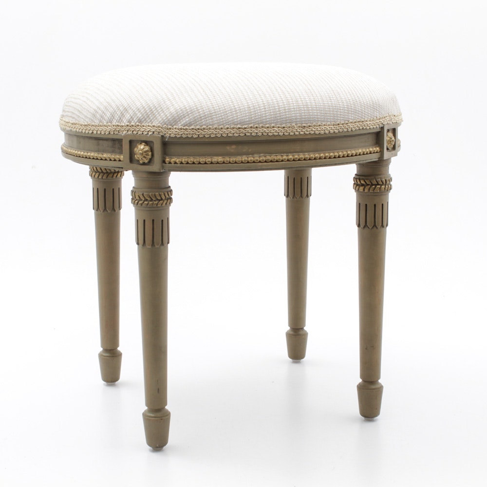 Interior Crafts Upholstered Stool