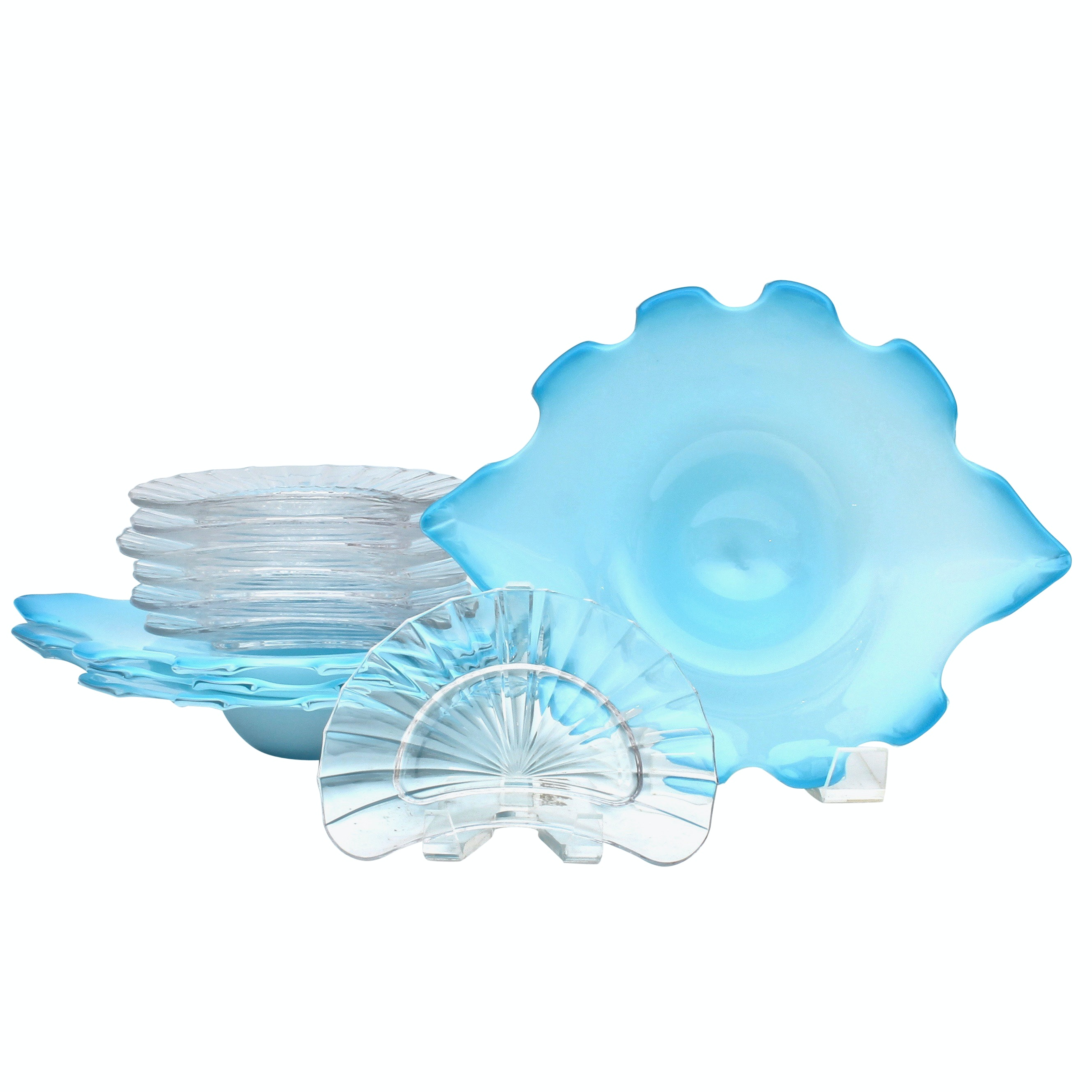 Paloma Picasso for Villeroy & Boch and Blue Glass Tableware