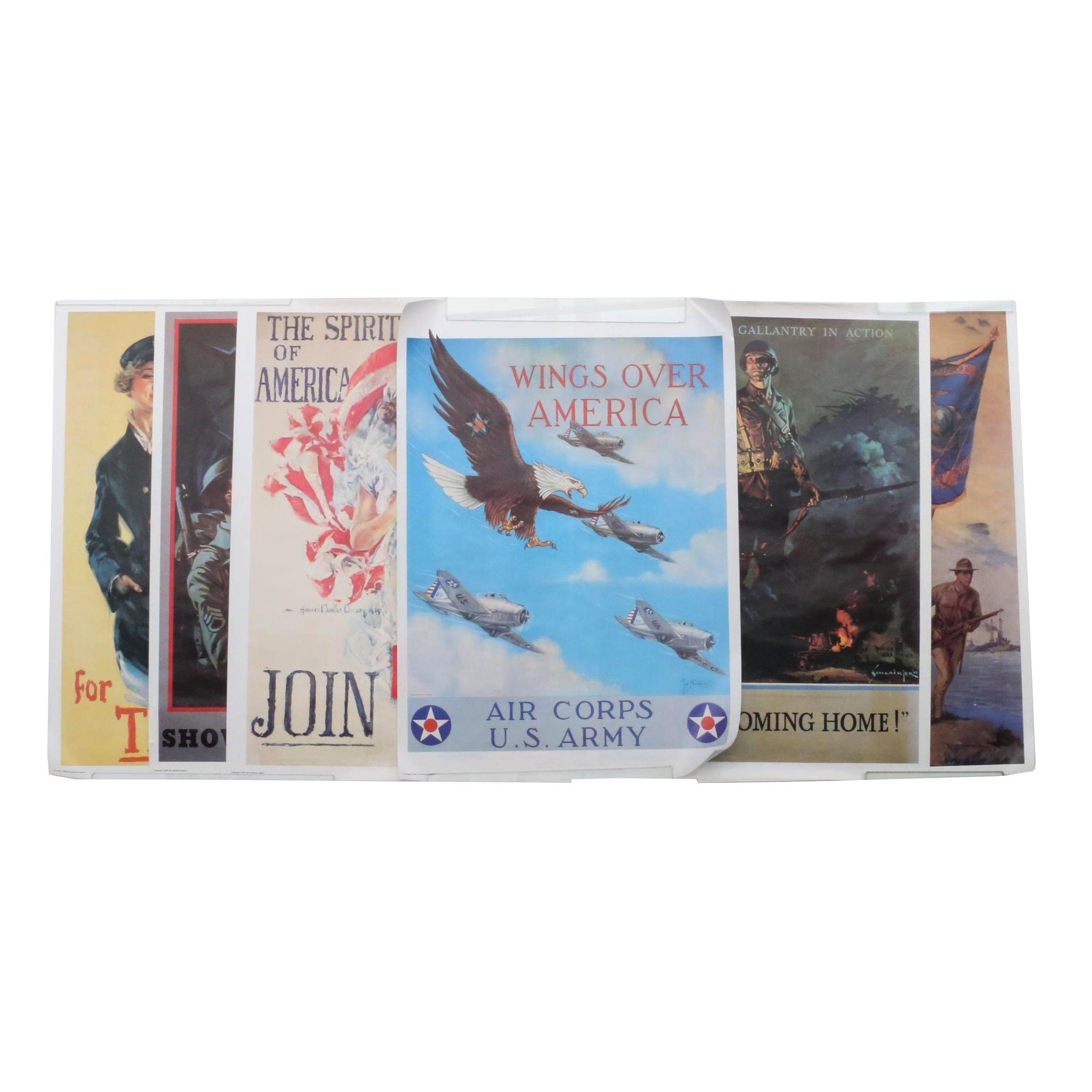 Six Contemporary Patriotic Recruitment Posters