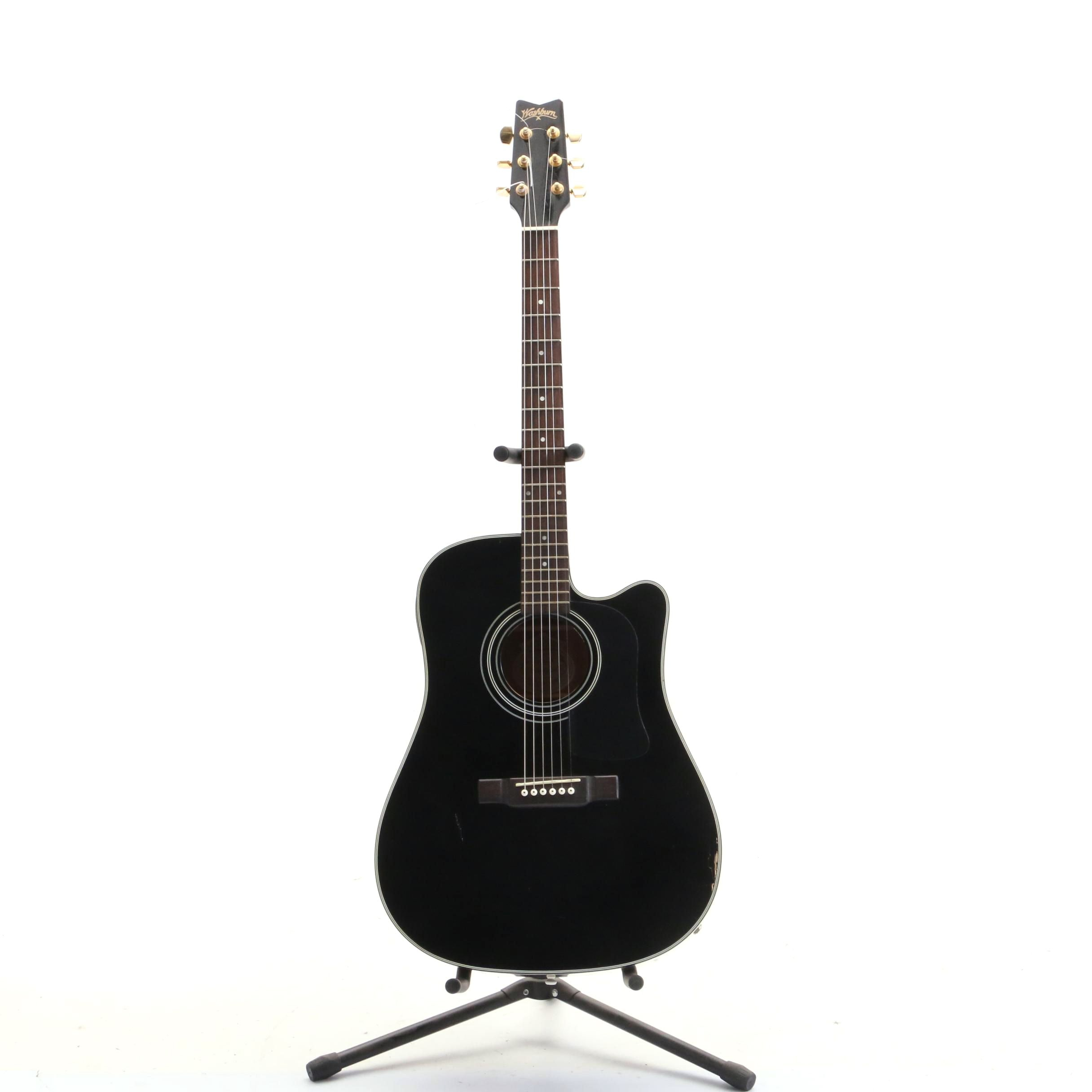 Washburn D100CEB Electric Acoustic