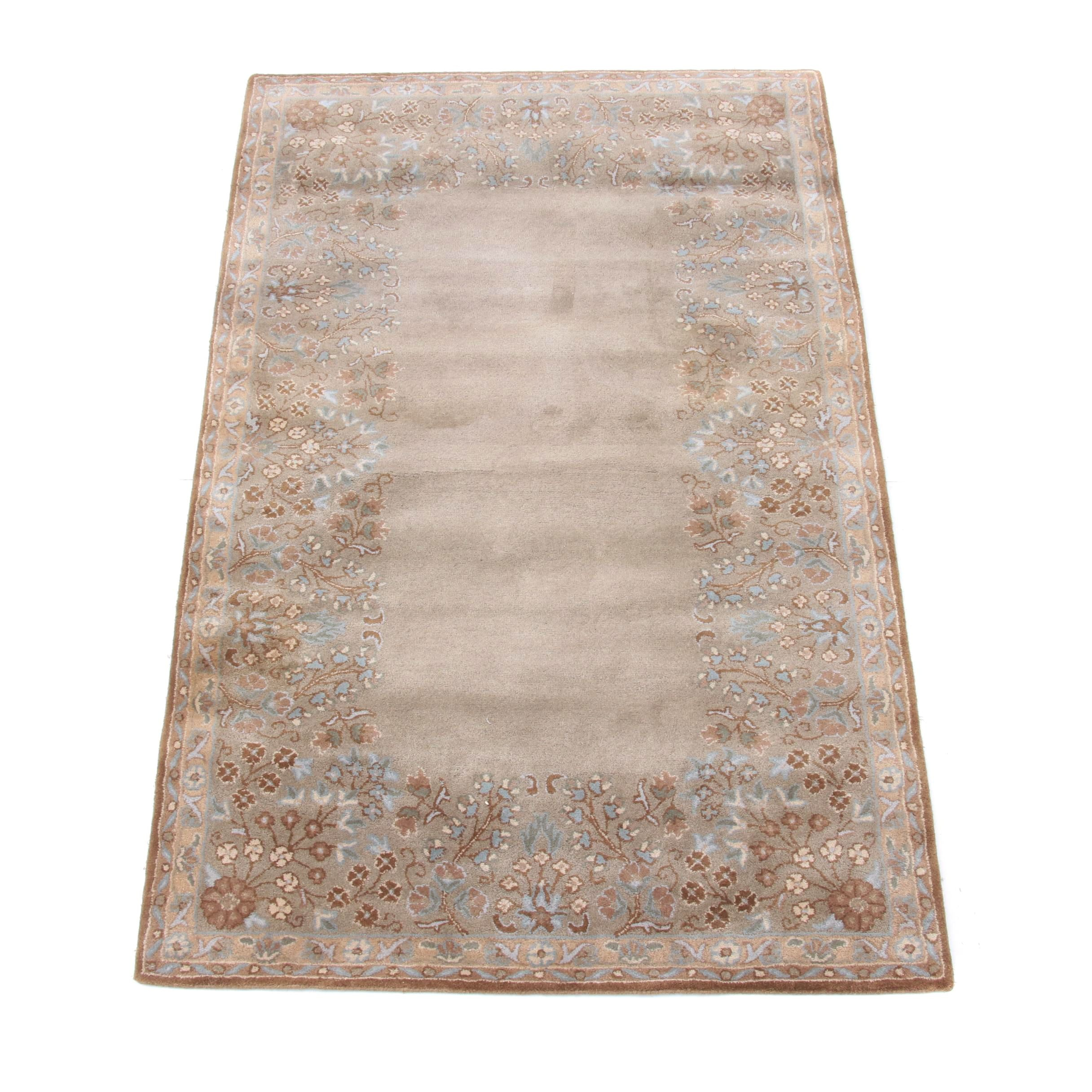 Contemporary Tufted Indian Area Rug