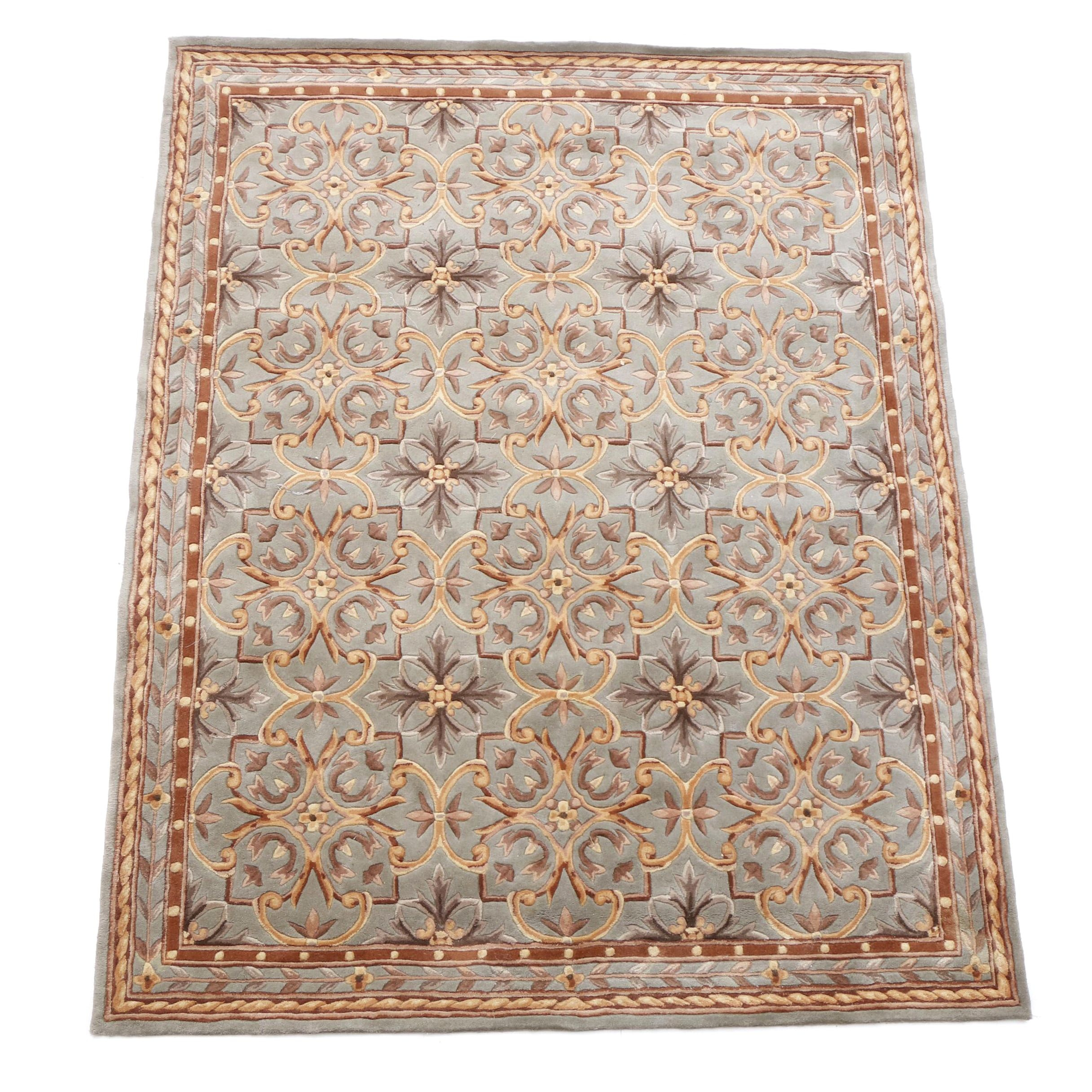 Contemporary Tufted Chinese Area Rug