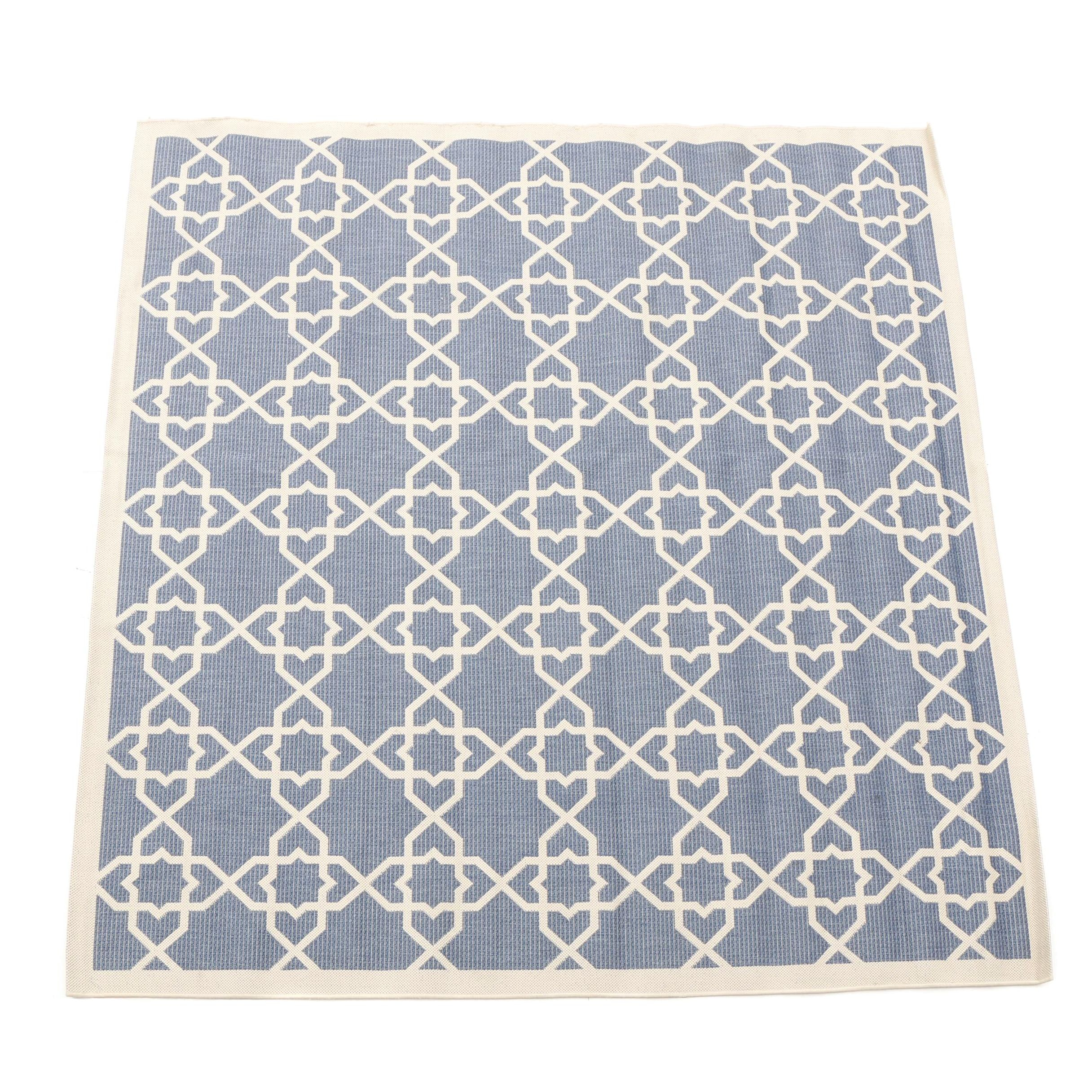"Machine Made Safavieh ""Courtyard Collection"" Indoor/Outdoor Area Rug"