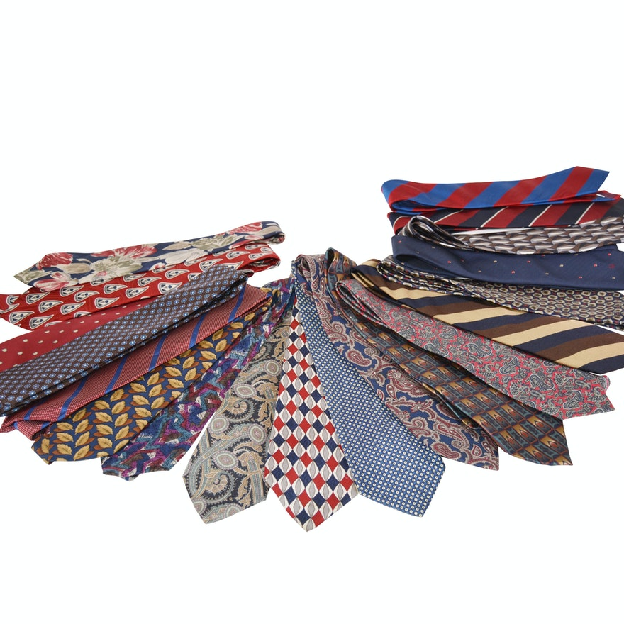 abbf93217497 Collection of Men's Neckties Including Christian Dior | EBTH