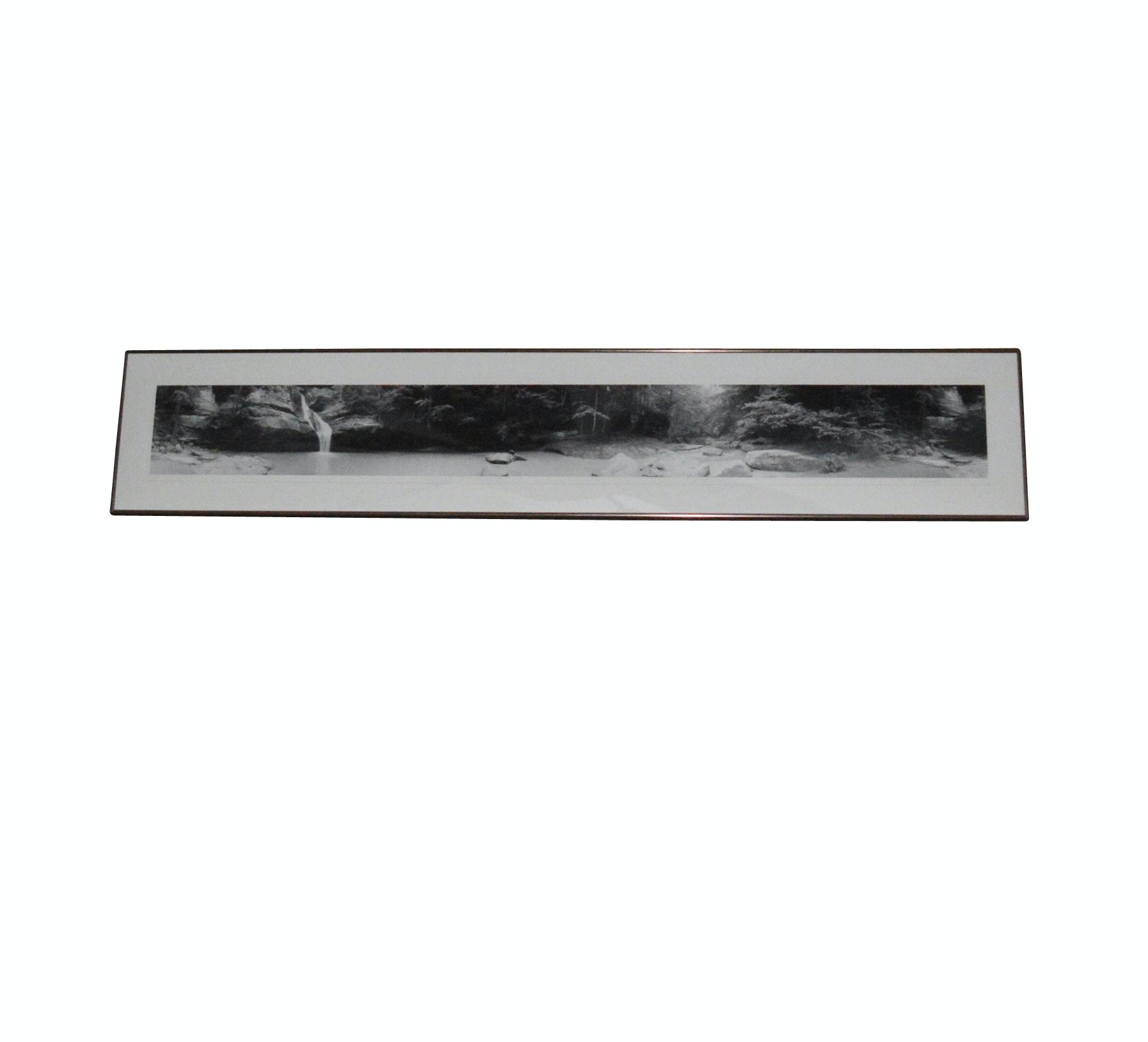 "1996 ""Cedar Falls"" Silver Print Photo by R. Malogorski"