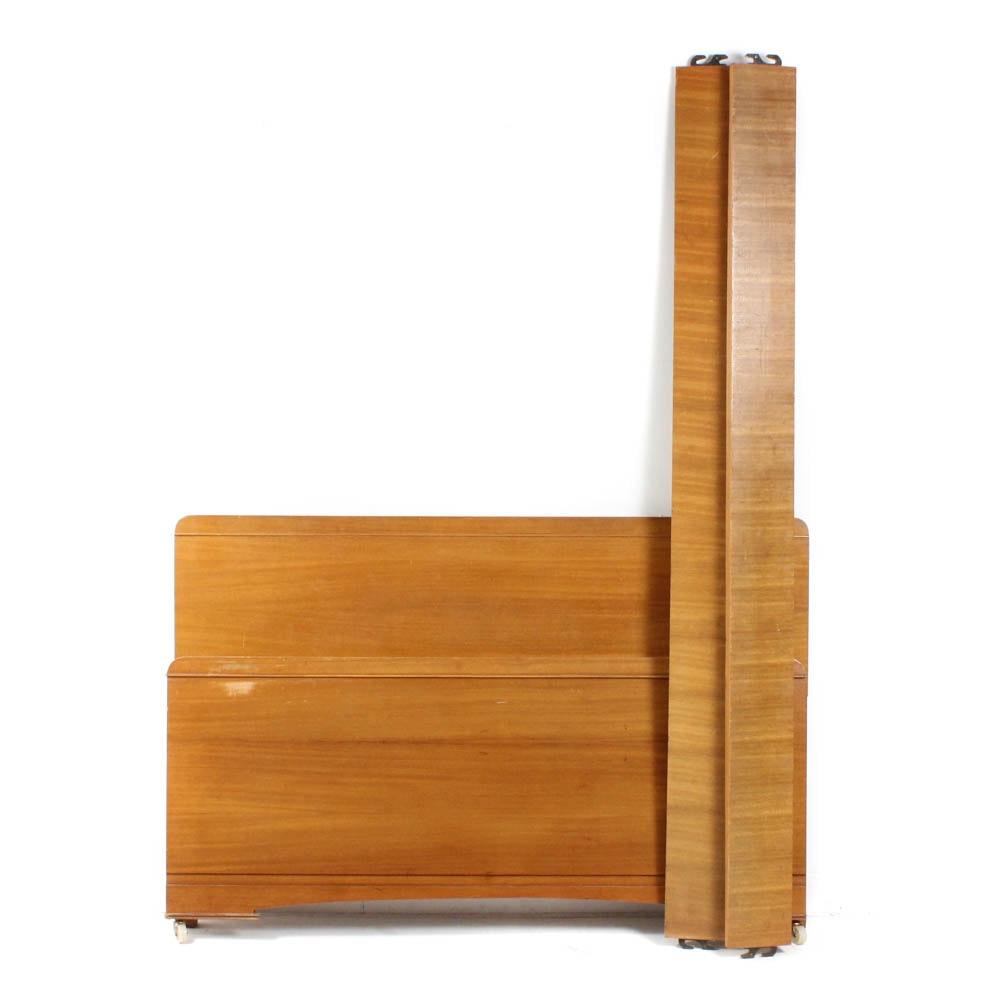 Mid-Century Modern Full Size Bed Frame