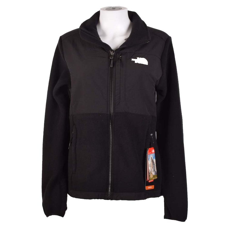 71985ed03 Women's The North Face Denali Polartec Classic 300 Black Jacket