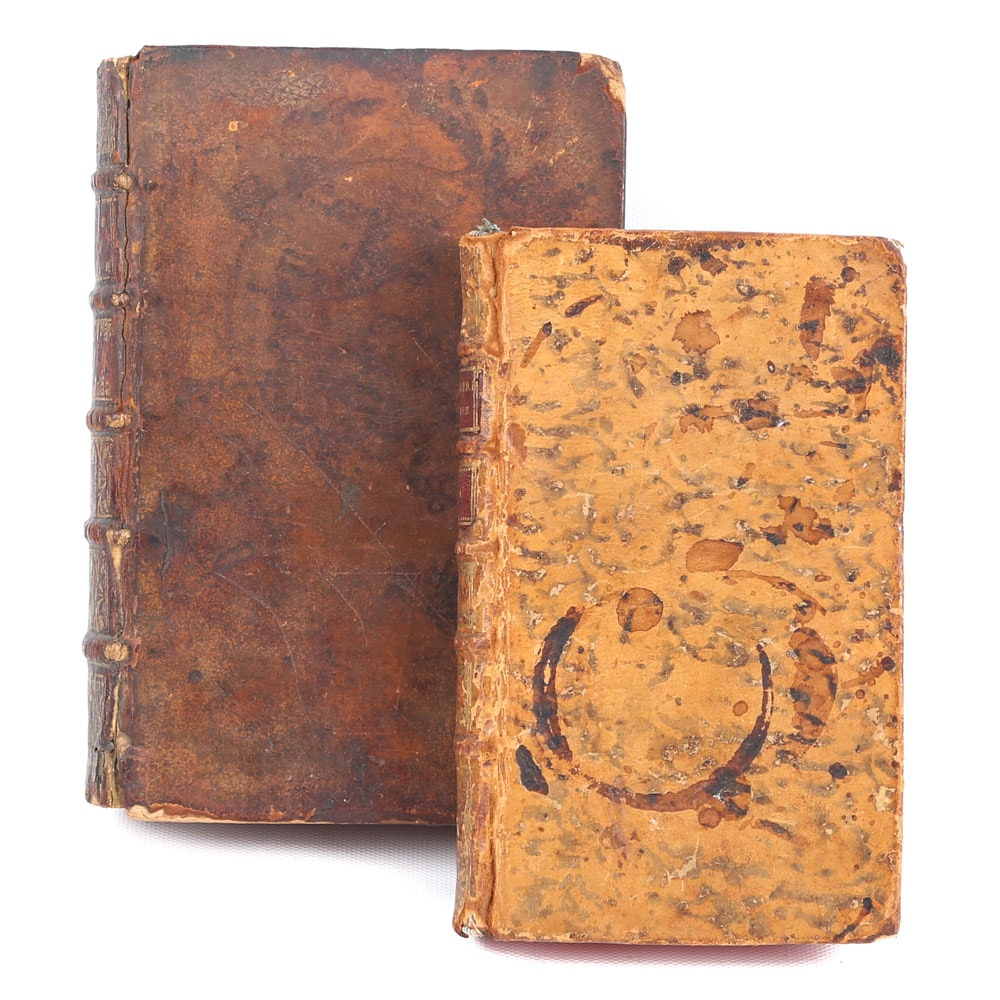 Antique Leatherbound Book Safes