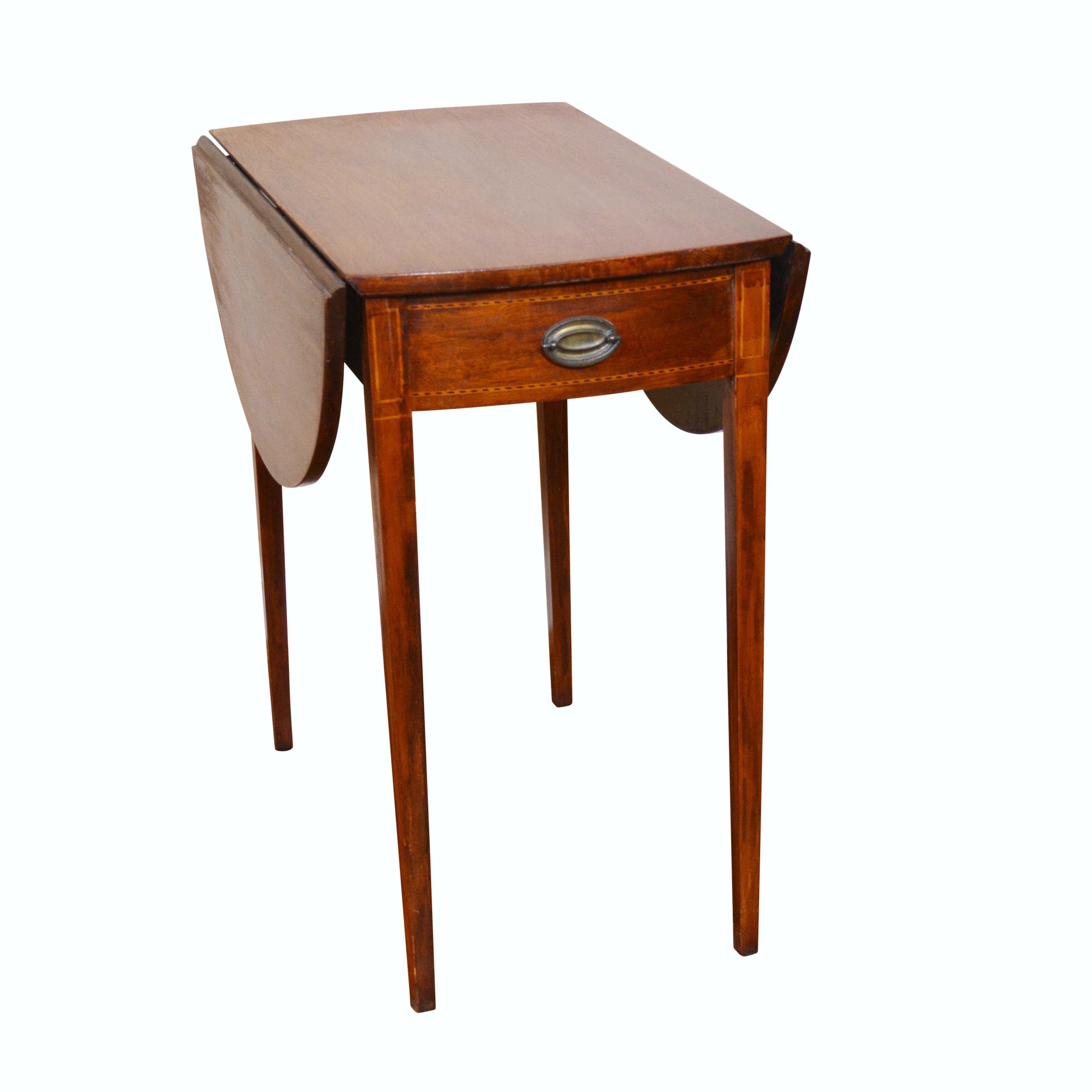 Vintage Federal Style Pembroke Table by Mersman