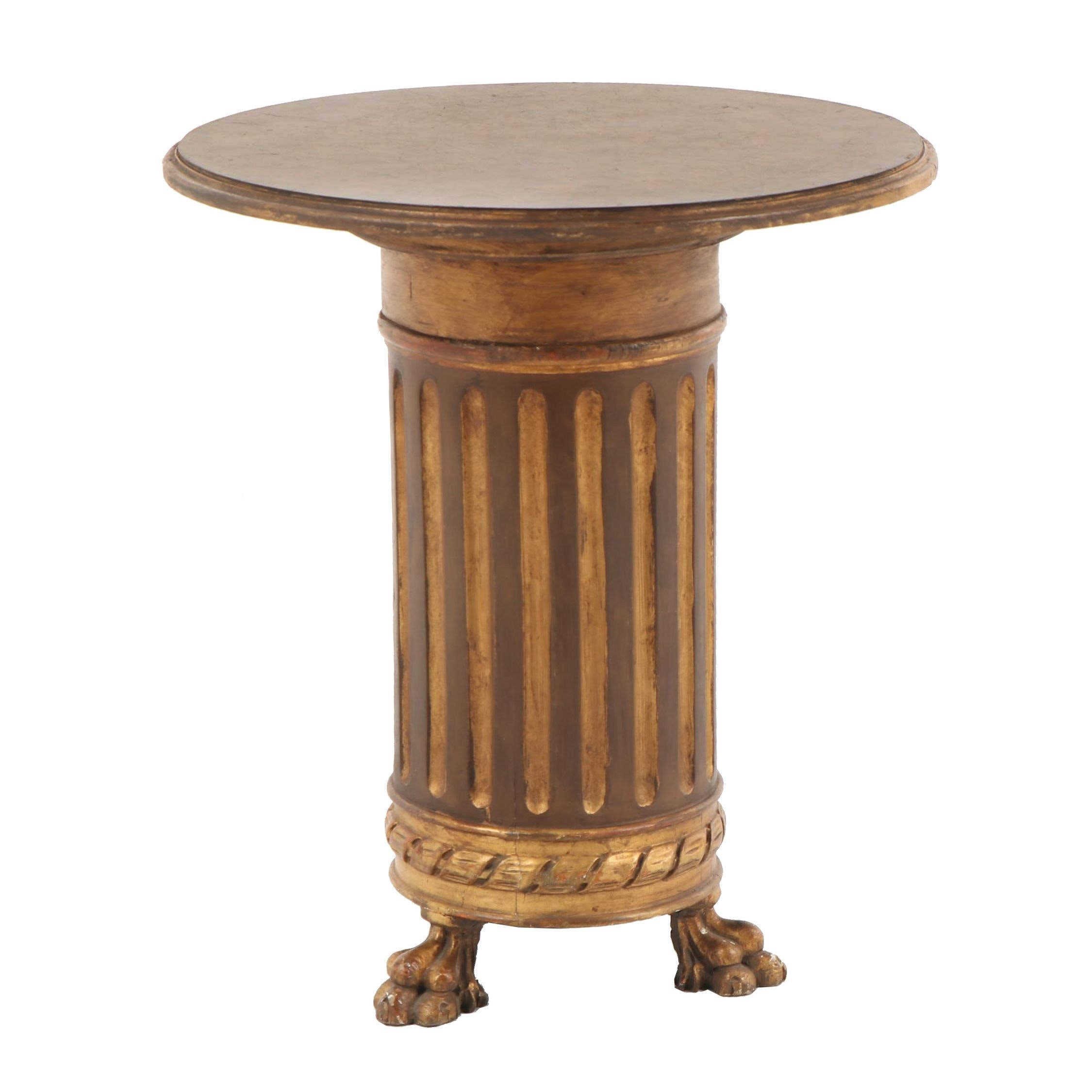 Neoclassical Style Occasional Table, Mid 20th Century