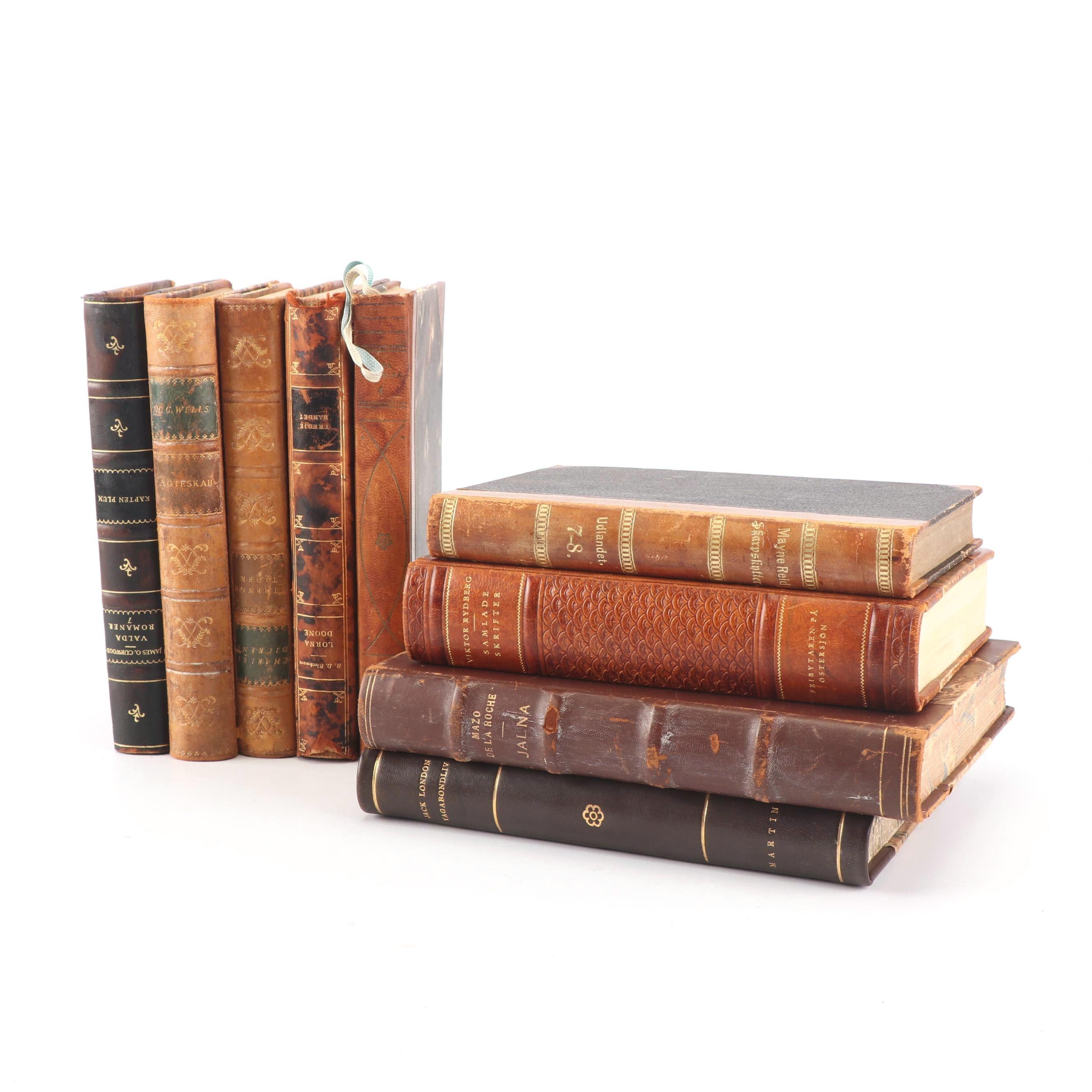 """1922 """"Skrifter av Viktor Rydberg"""" and Other Books"""