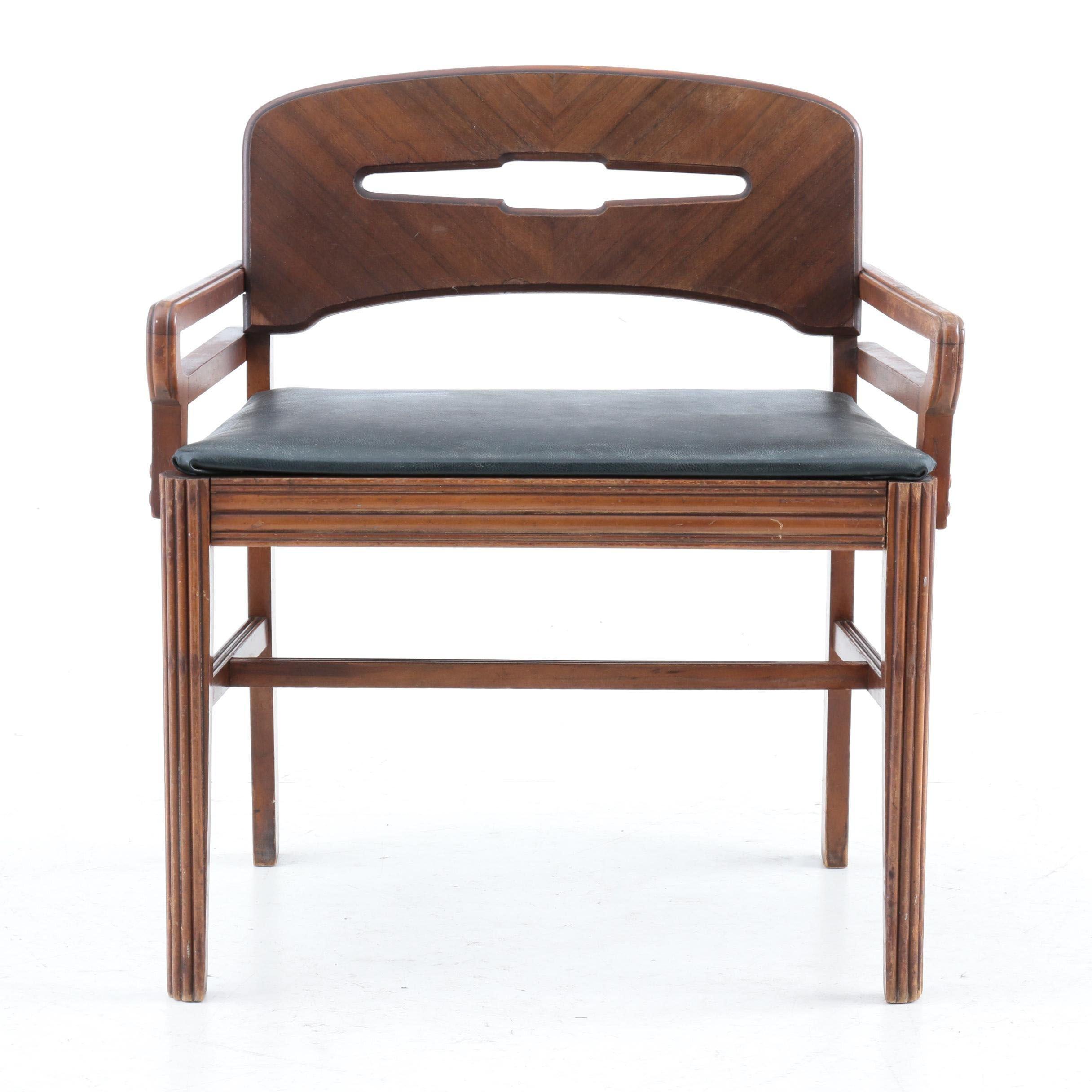 Mid-Century Vanity Chair