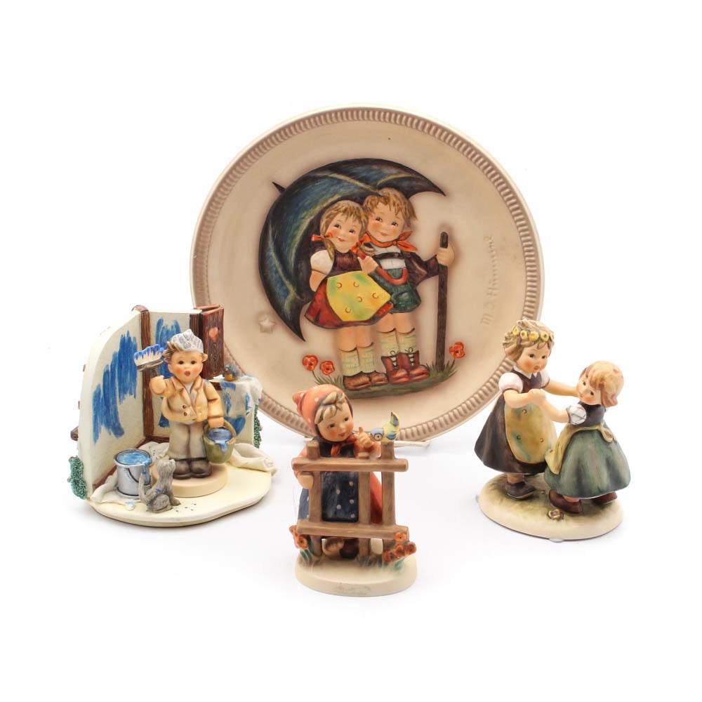 Goebel Hummel Figurines, Plate and Hummelscape