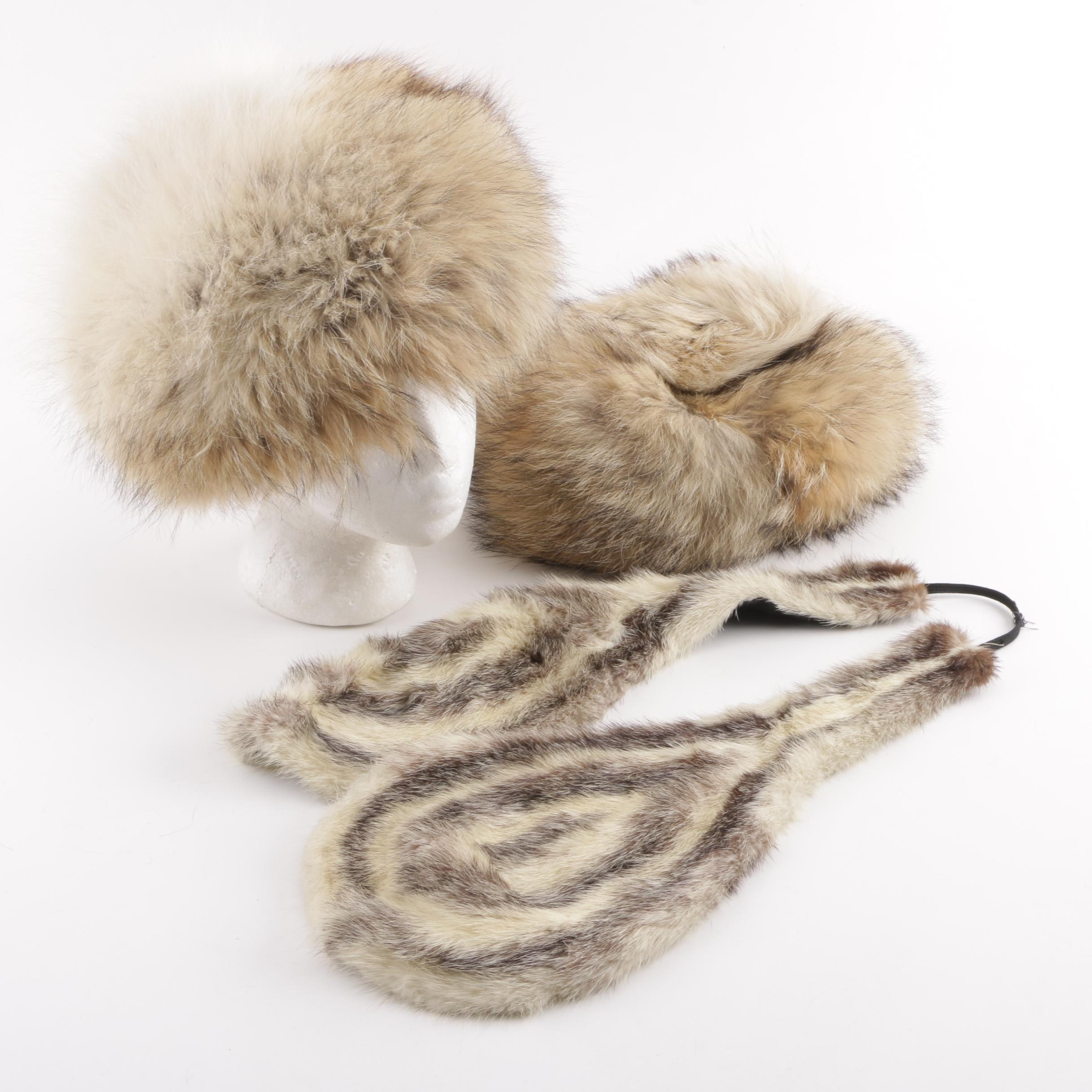 Maple Furriers and Other Raccoon and Fitch Fur Accessories
