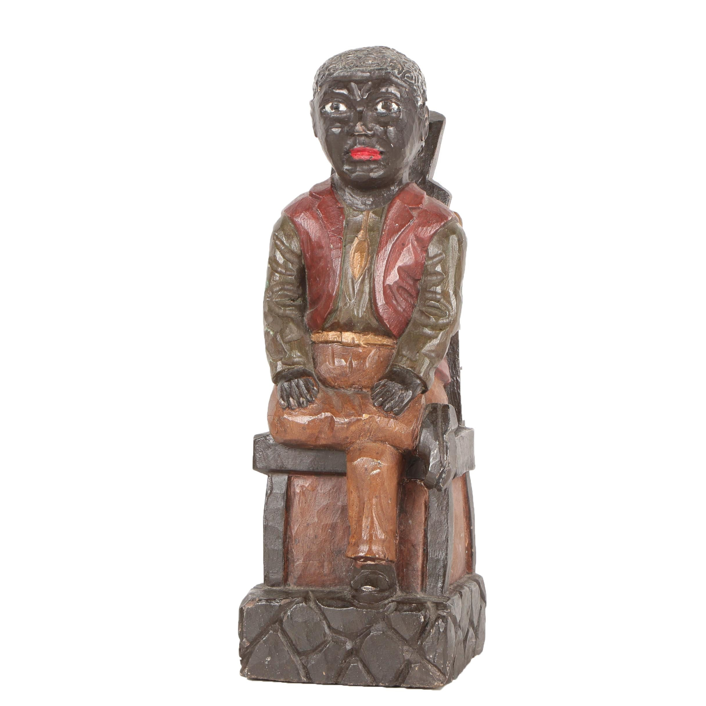 Late 19th to Early 20th Century Folk Art Sculpture