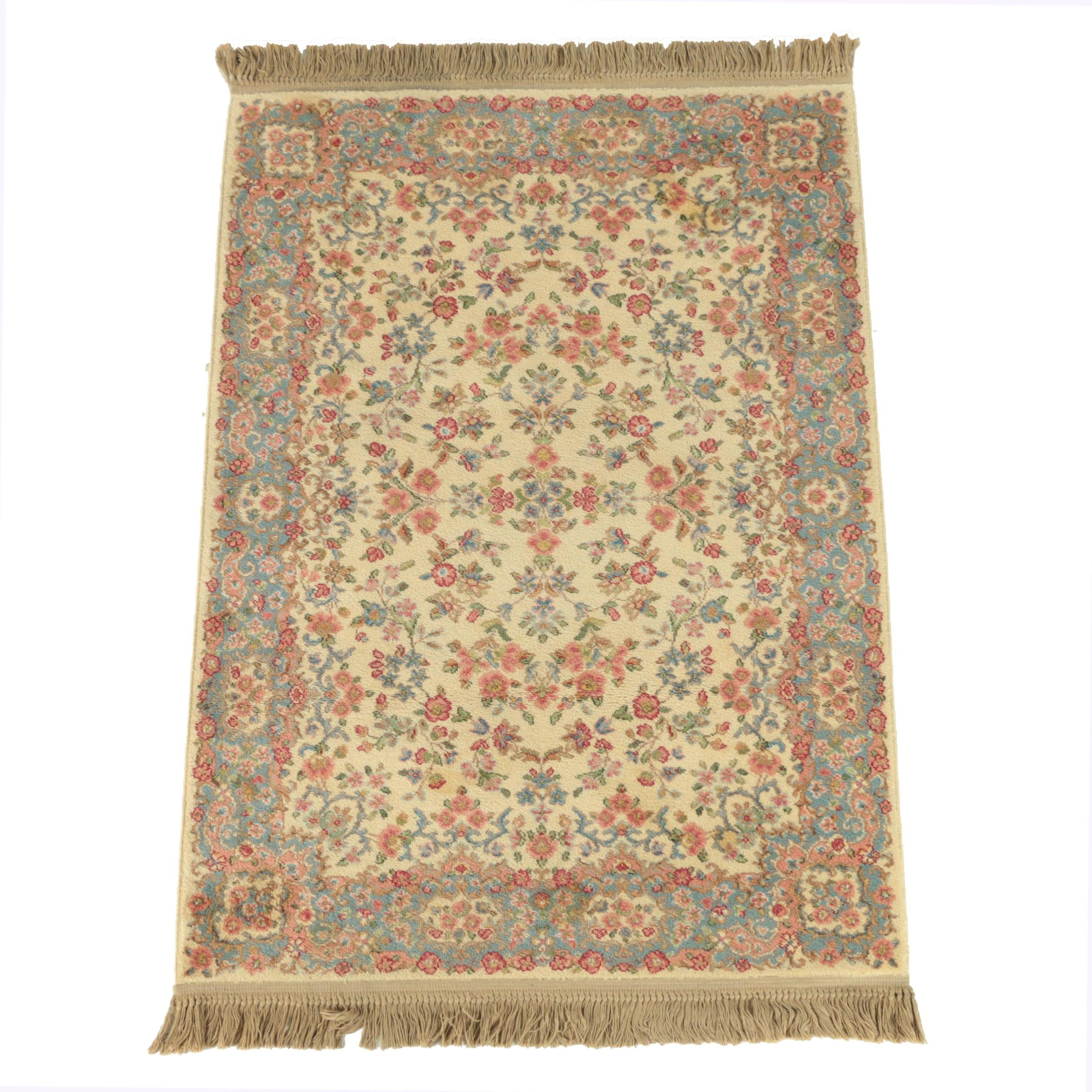 "Power-Loomed Karastan ""Ivory Kirman"" Wool Area Rug"