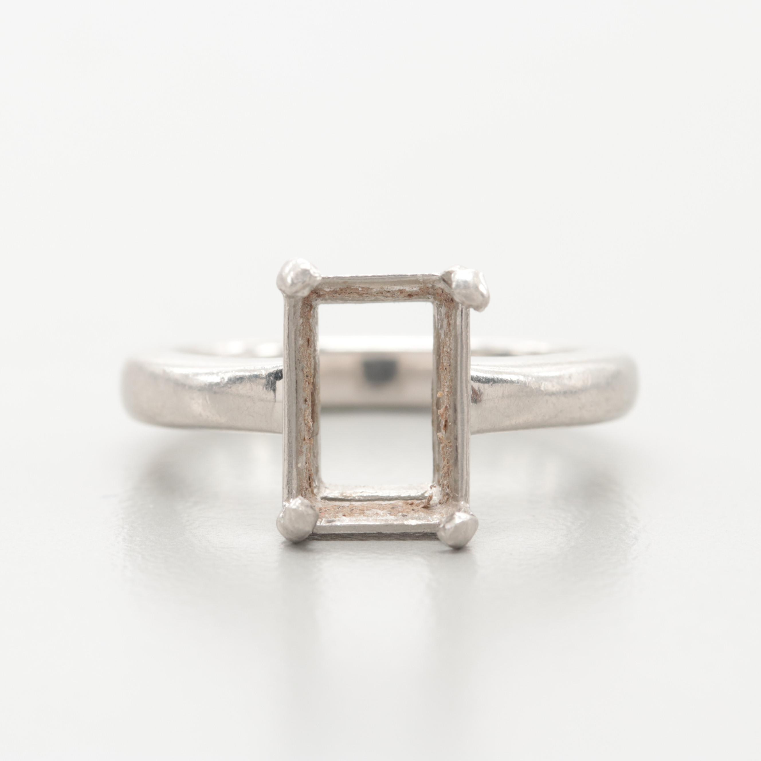 Platinum Ring Mounting