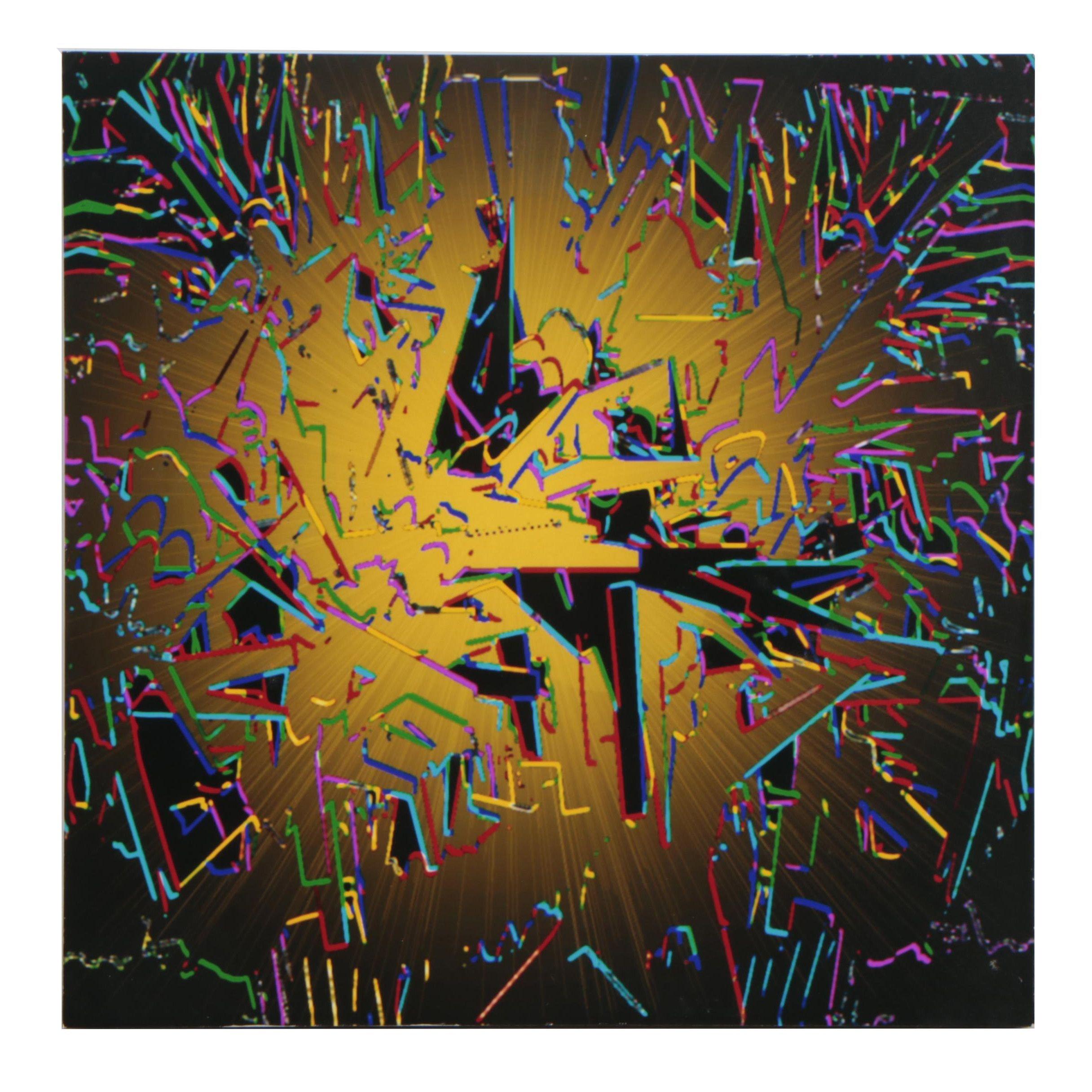 """Stephen T. Coenen Digital Painting """"Eureka!"""""""