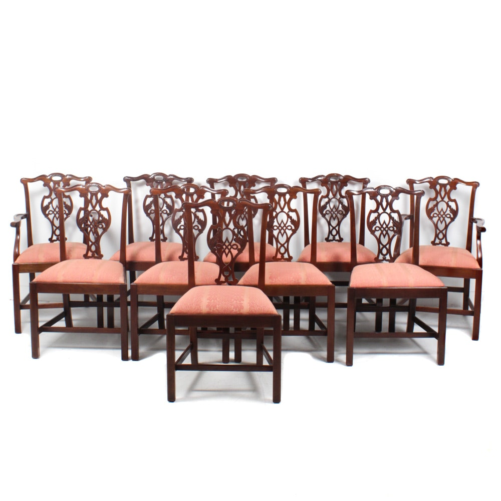 """Baker Furniture """"Historic Charleston Reproductions"""" Dining Chairs"""