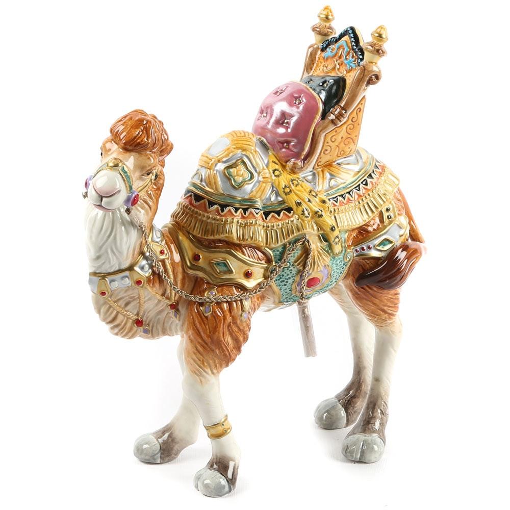 "Fitz and Floyd ""Nativity"" Nubian Camel Figurine"