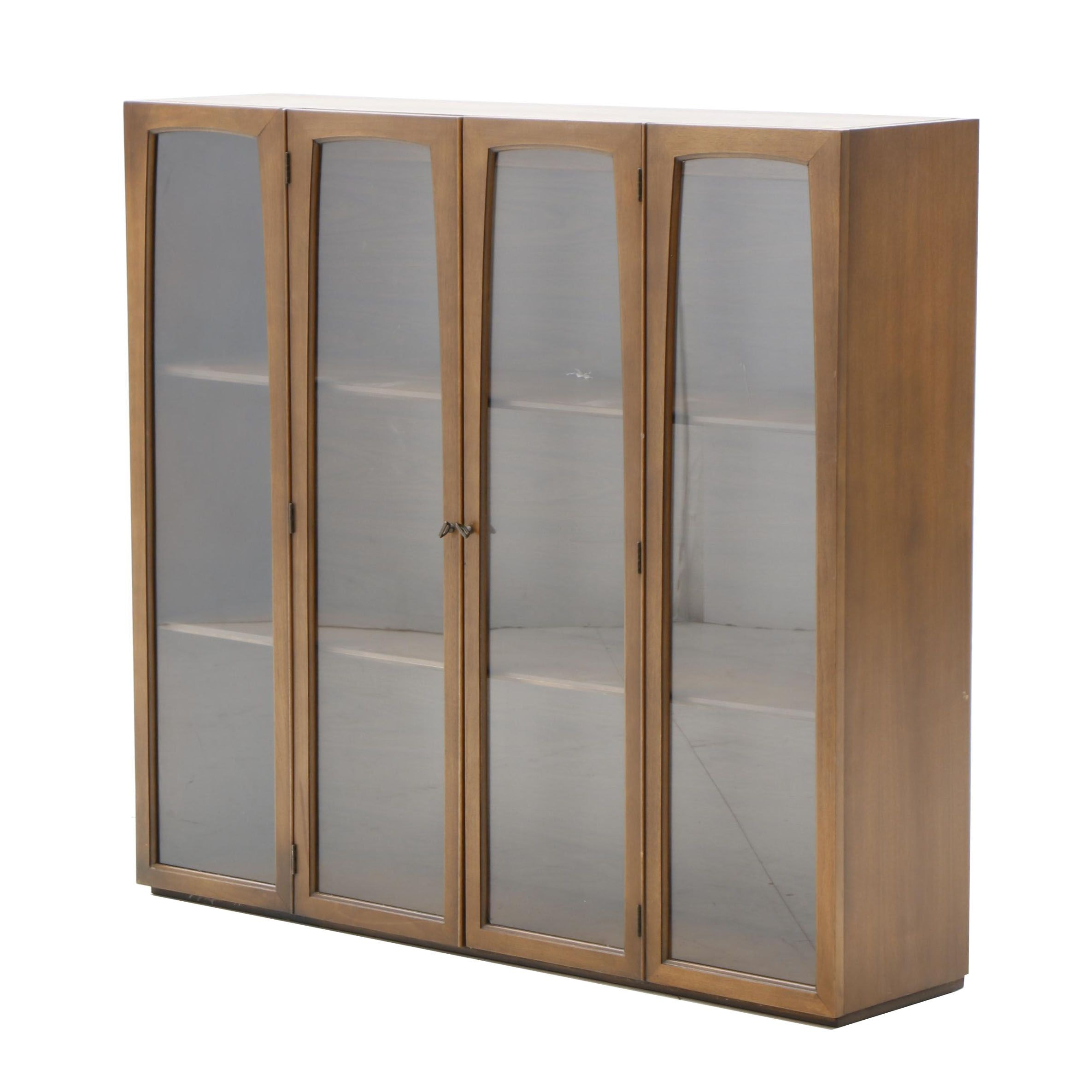 Mid Century Modern China Cabinet Top