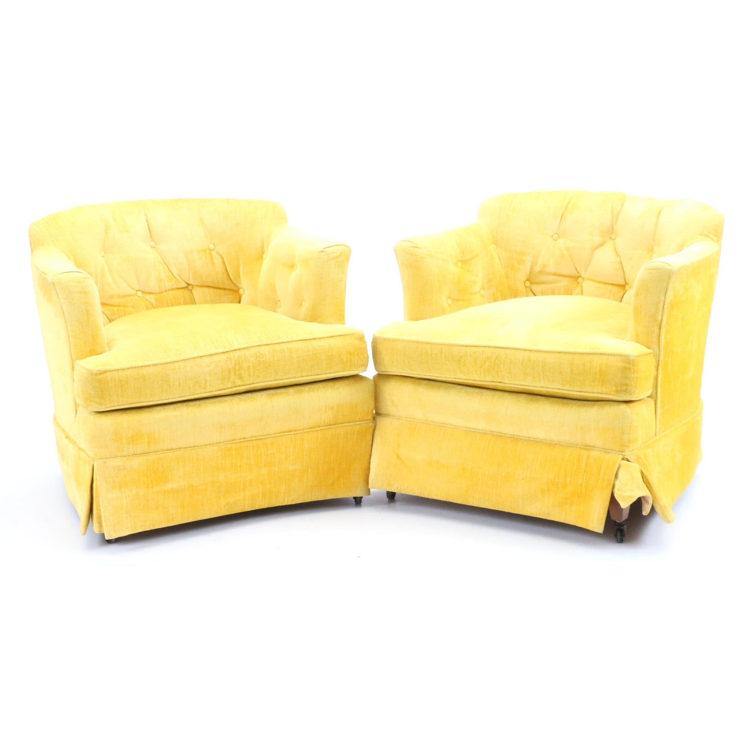 Vintage Henredon Armchairs